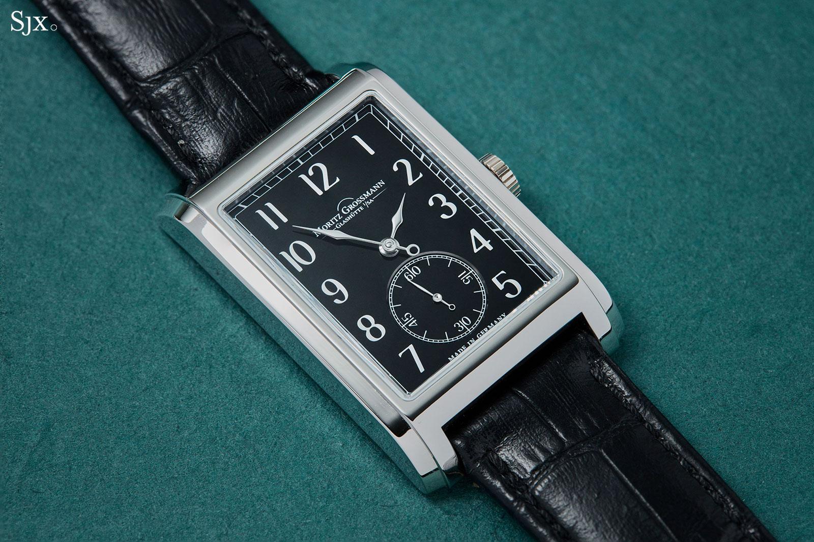 moritz grossmann corner stone black dial 6
