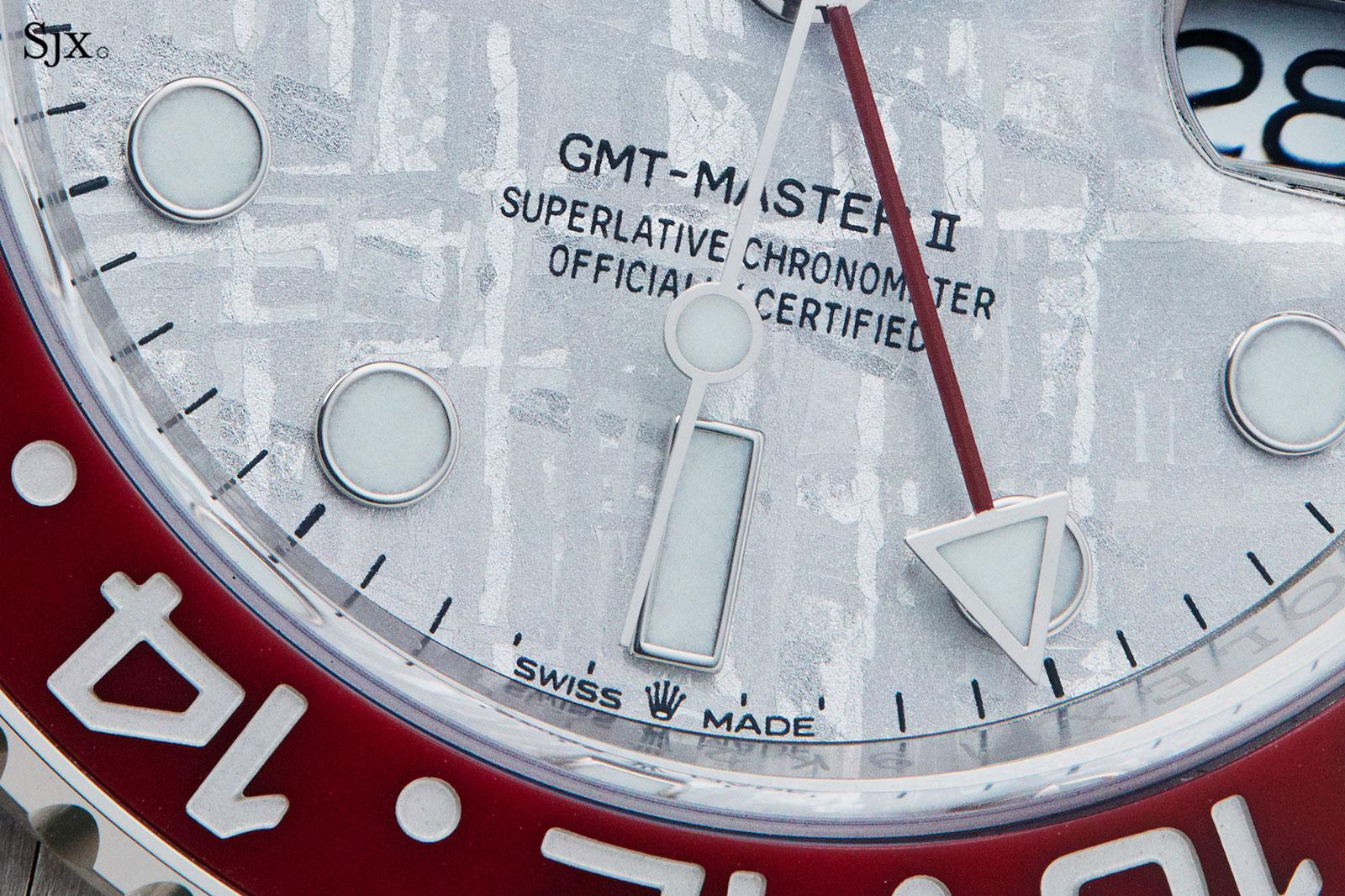rolex gmt master meteorite 126719BLRO-10