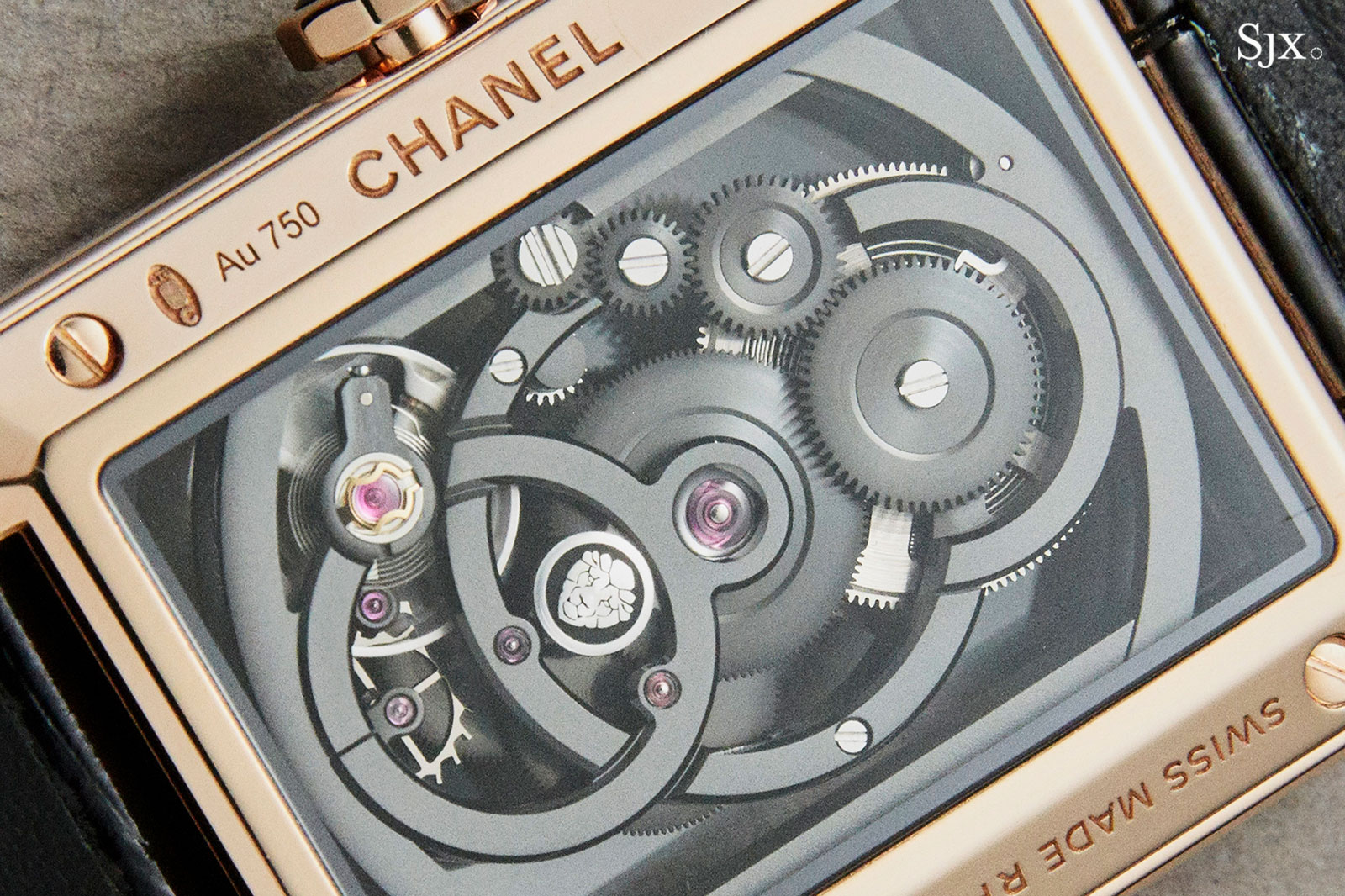 Chanel Boy.Friend Skeleton watch 4