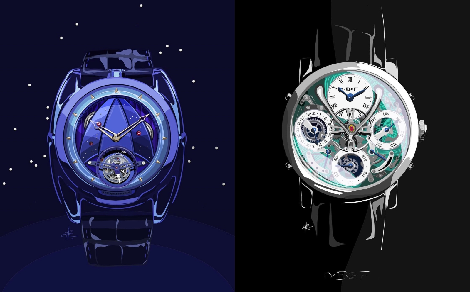 Commissioning Watch Art - Alex Eisenzammer_DeBethune_MB&F