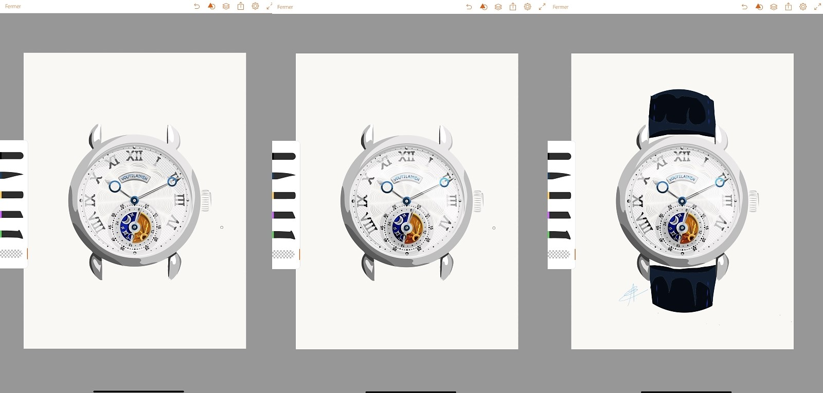 Commissioning Watch Art - Alex Eisenzammer_Designstep 3