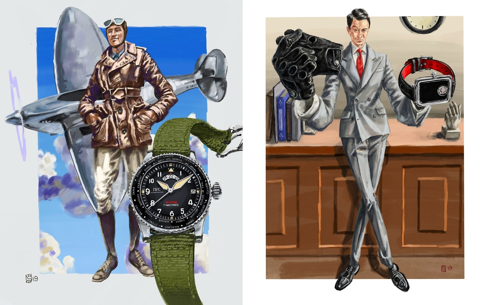 Commissioning Watch Art -Matthew Miller_Editorial Art