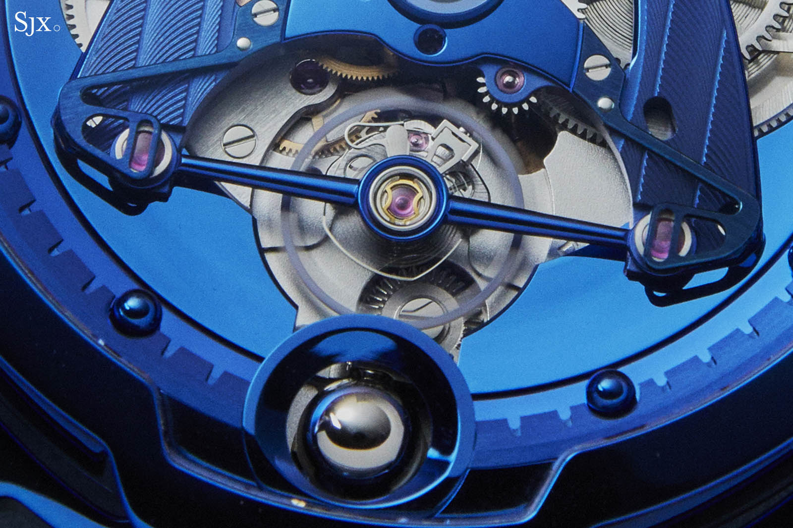 DB28 Steel Wheels Blue The Hour Glass Edition 9