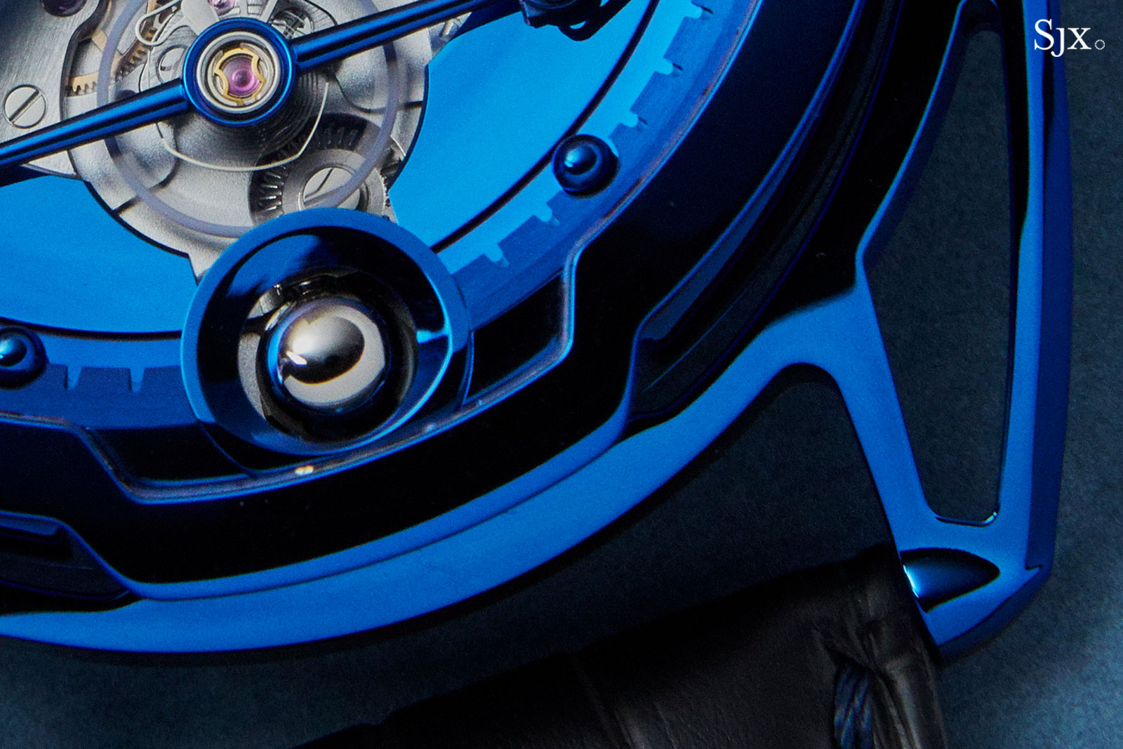 De Bethune DB28 Steel Wheels Blue THG 1