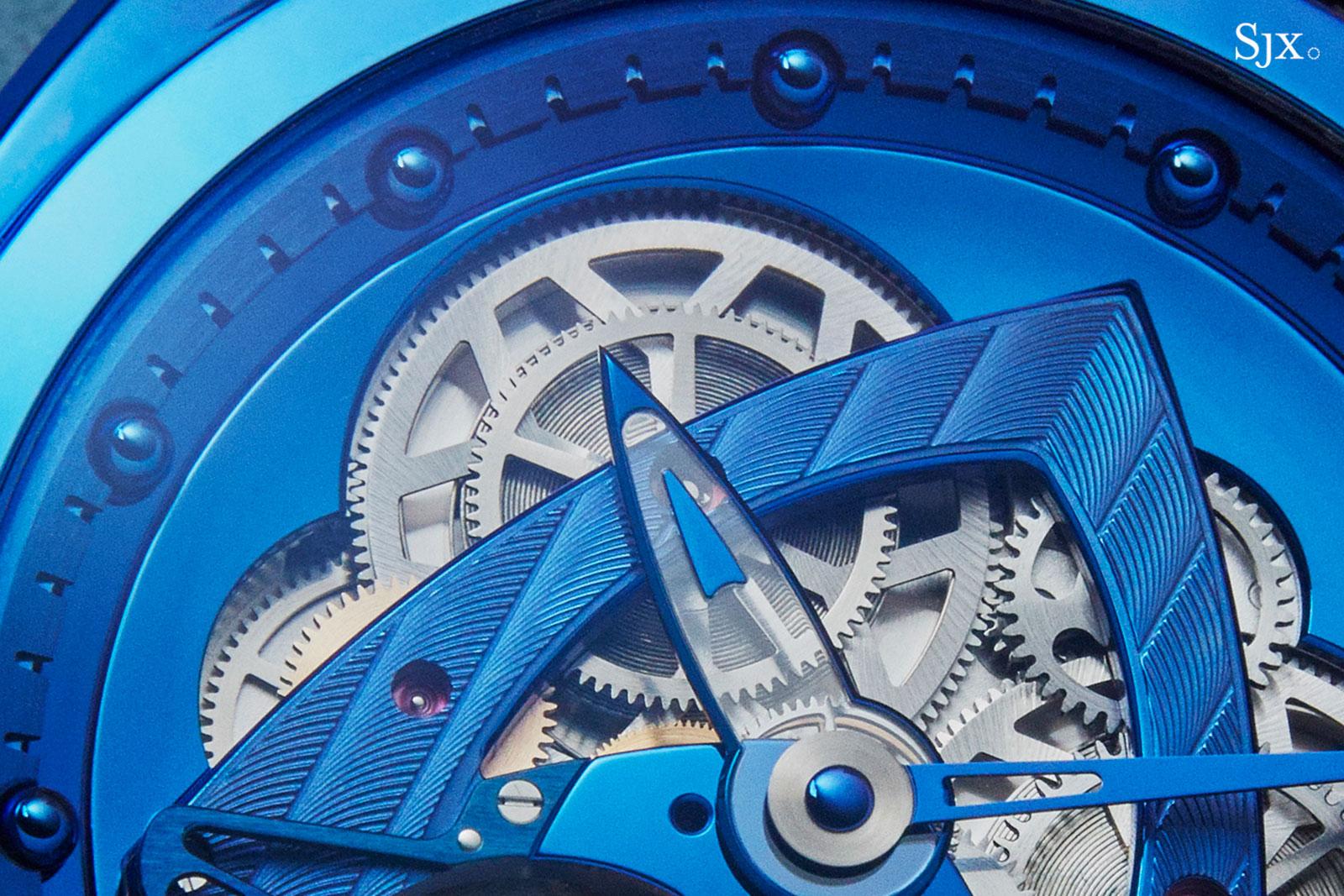 De Bethune DB28 Steel Wheels Blue THG 2