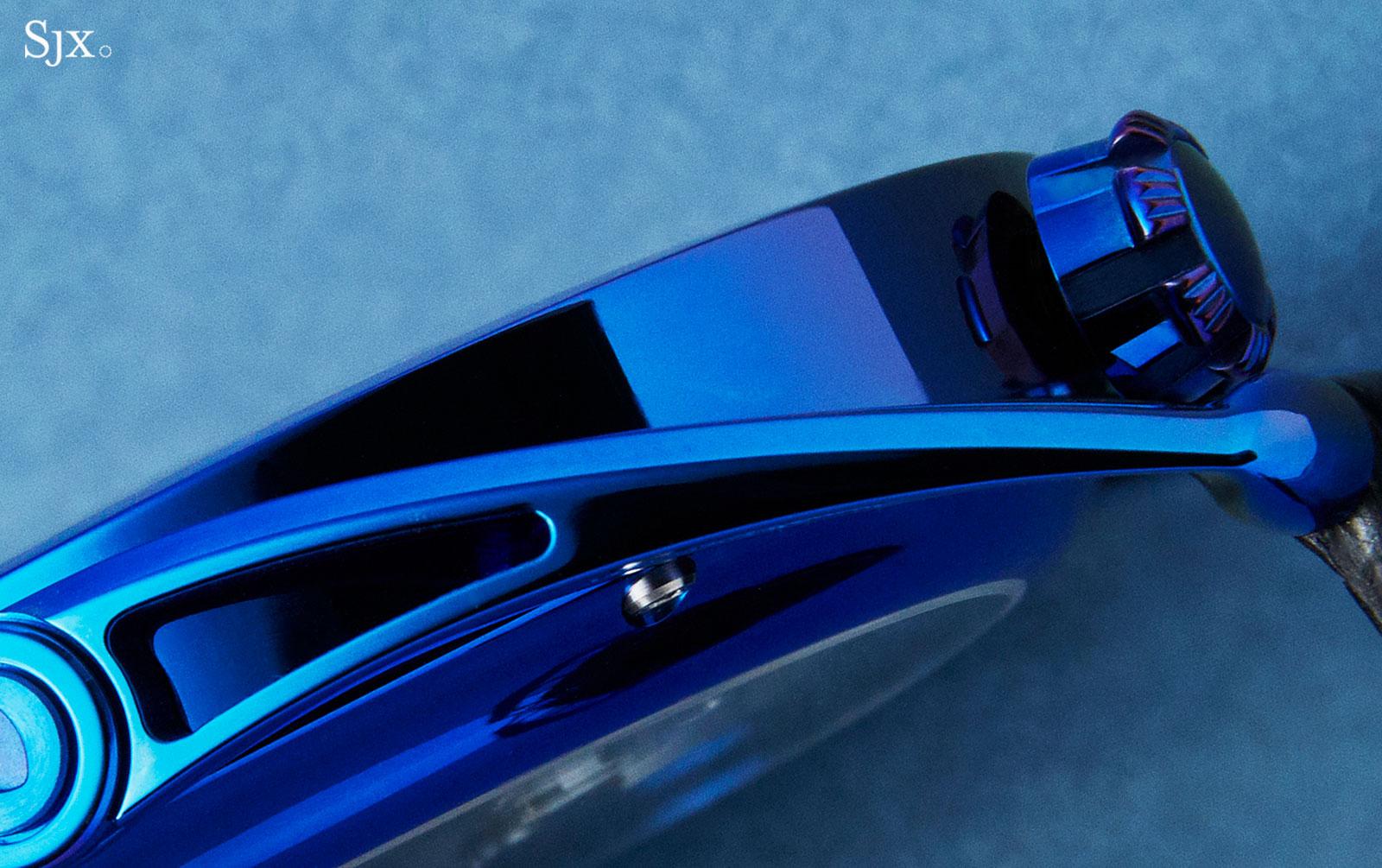 De Bethune DB28 Steel Wheels Blue THG 3
