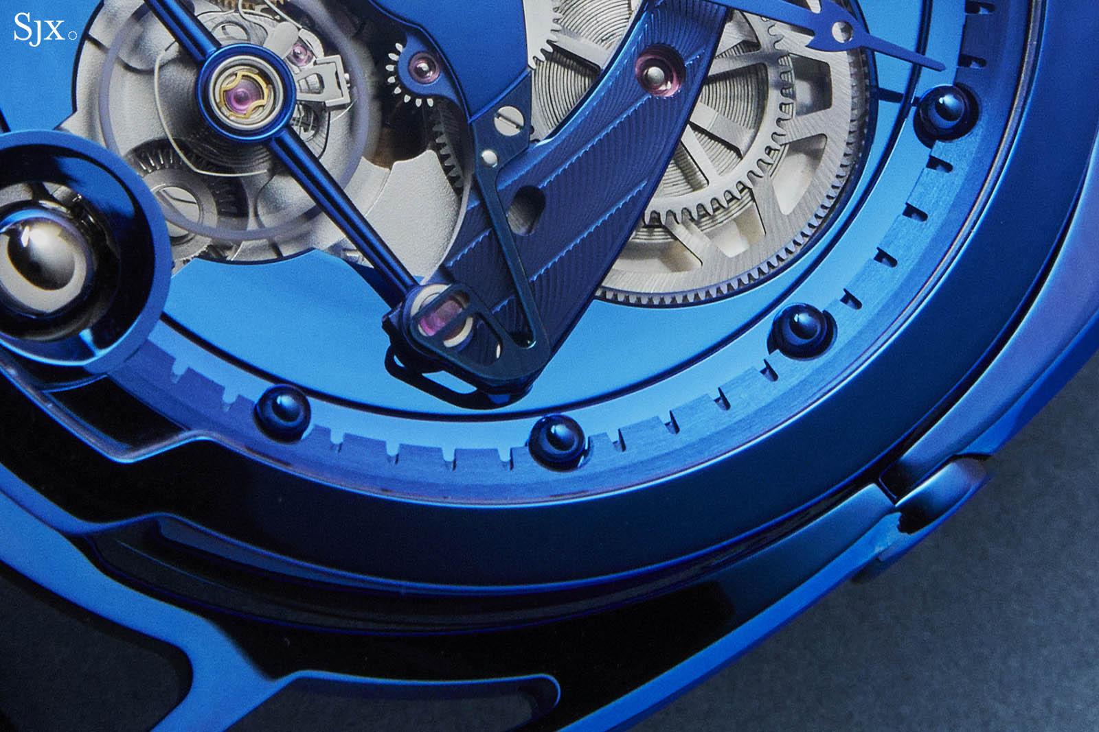 De Bethune DB28 Steel Wheels Blue The Hour Glass Edition 1