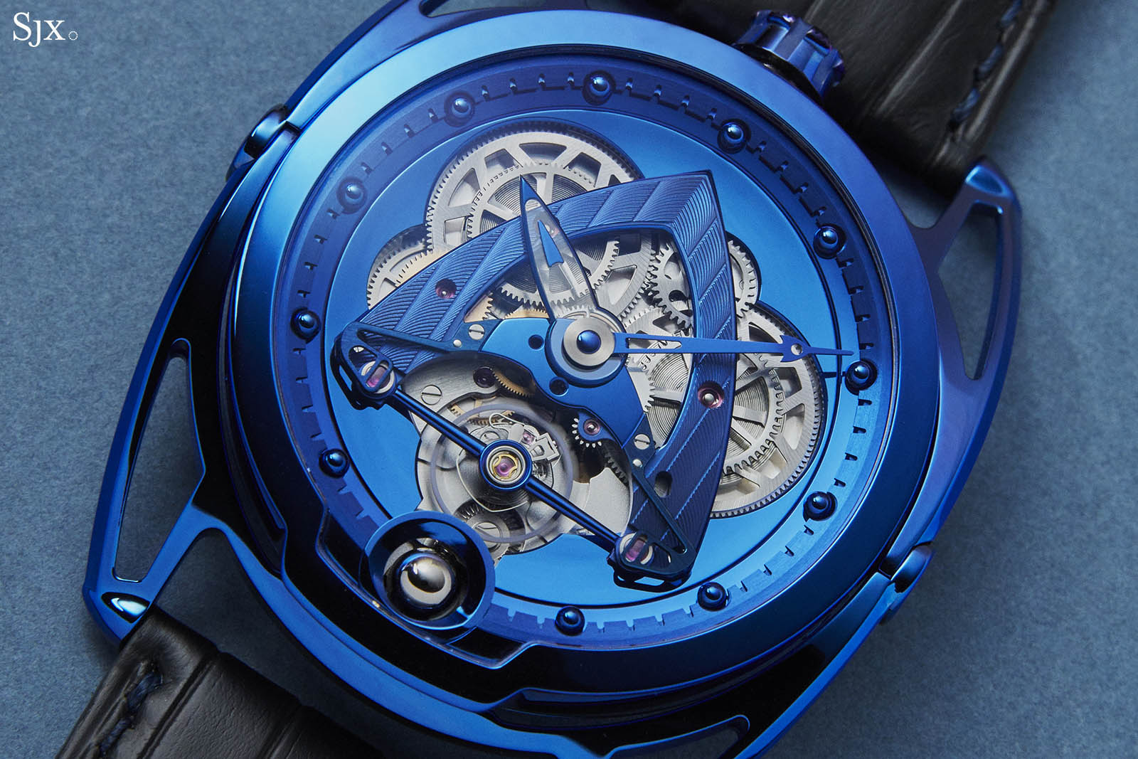 De Bethune DB28 Steel Wheels Blue The Hour Glass Edition 2
