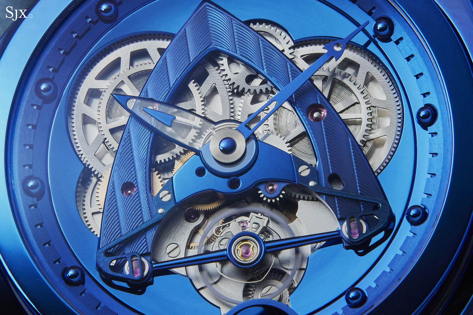De Bethune DB28 Steel Wheels Blue The Hour Glass Edition 3