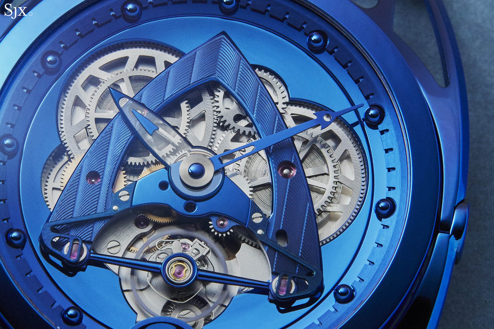 De Bethune DB28 Steel Wheels Blue The Hour Glass Edition 4