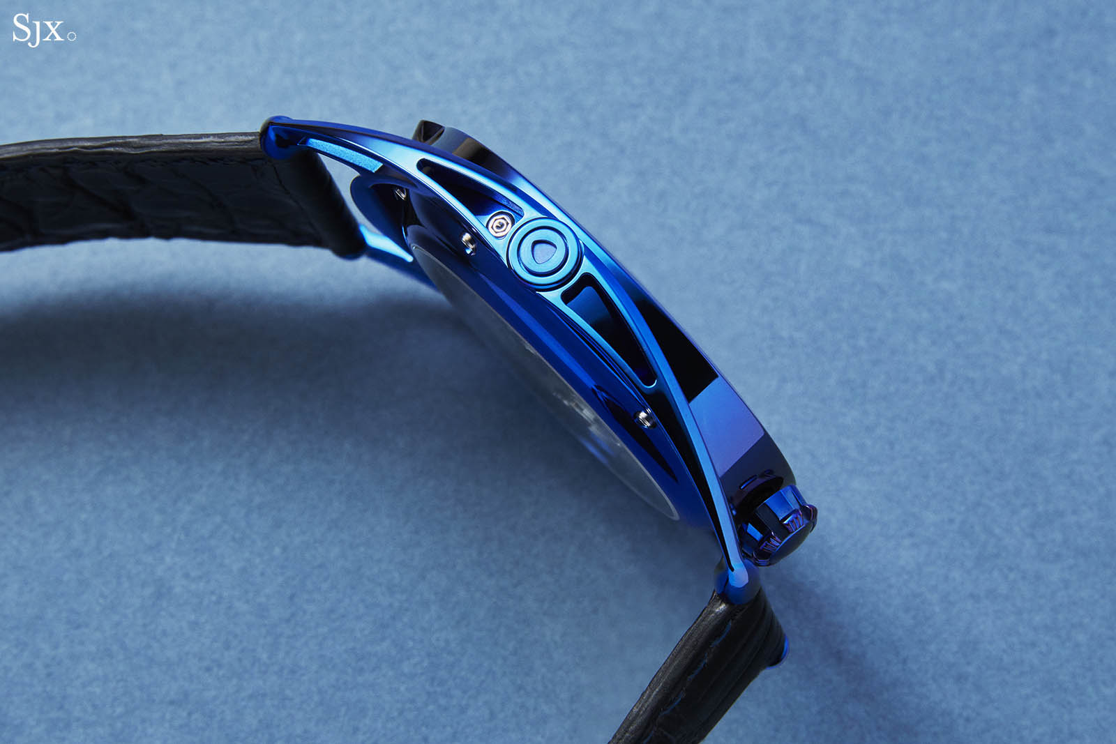 De Bethune DB28 Steel Wheels Blue The Hour Glass Edition 5