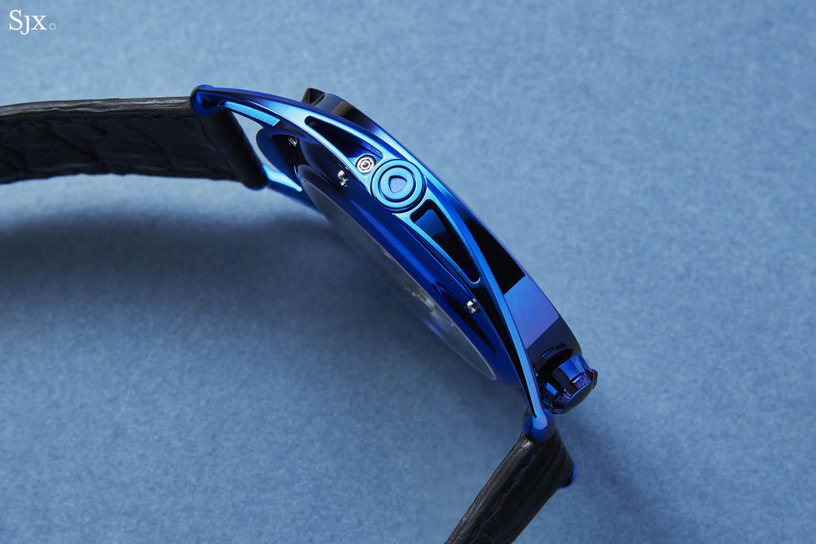 De Bethune DB28 Steel Wheels Blue The Hour Glass Edition 5