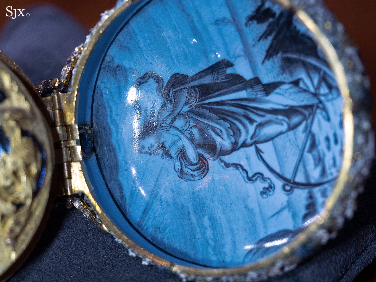 Jehan Cremsdorff enamel verge watch 1650-15