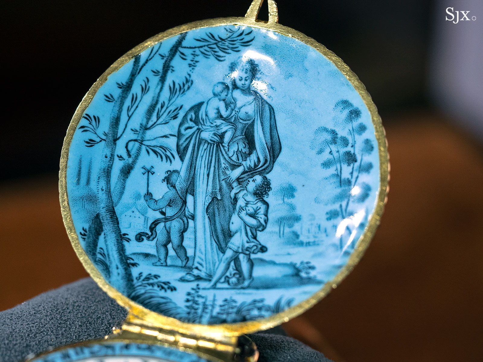 Jehan Cremsdorff enamel verge watch 1650-8