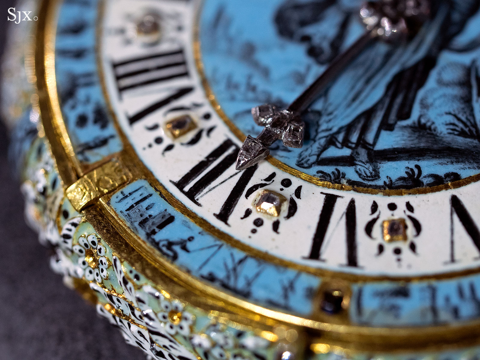 Jehan Cremsdorff enamel verge watch 1650-9