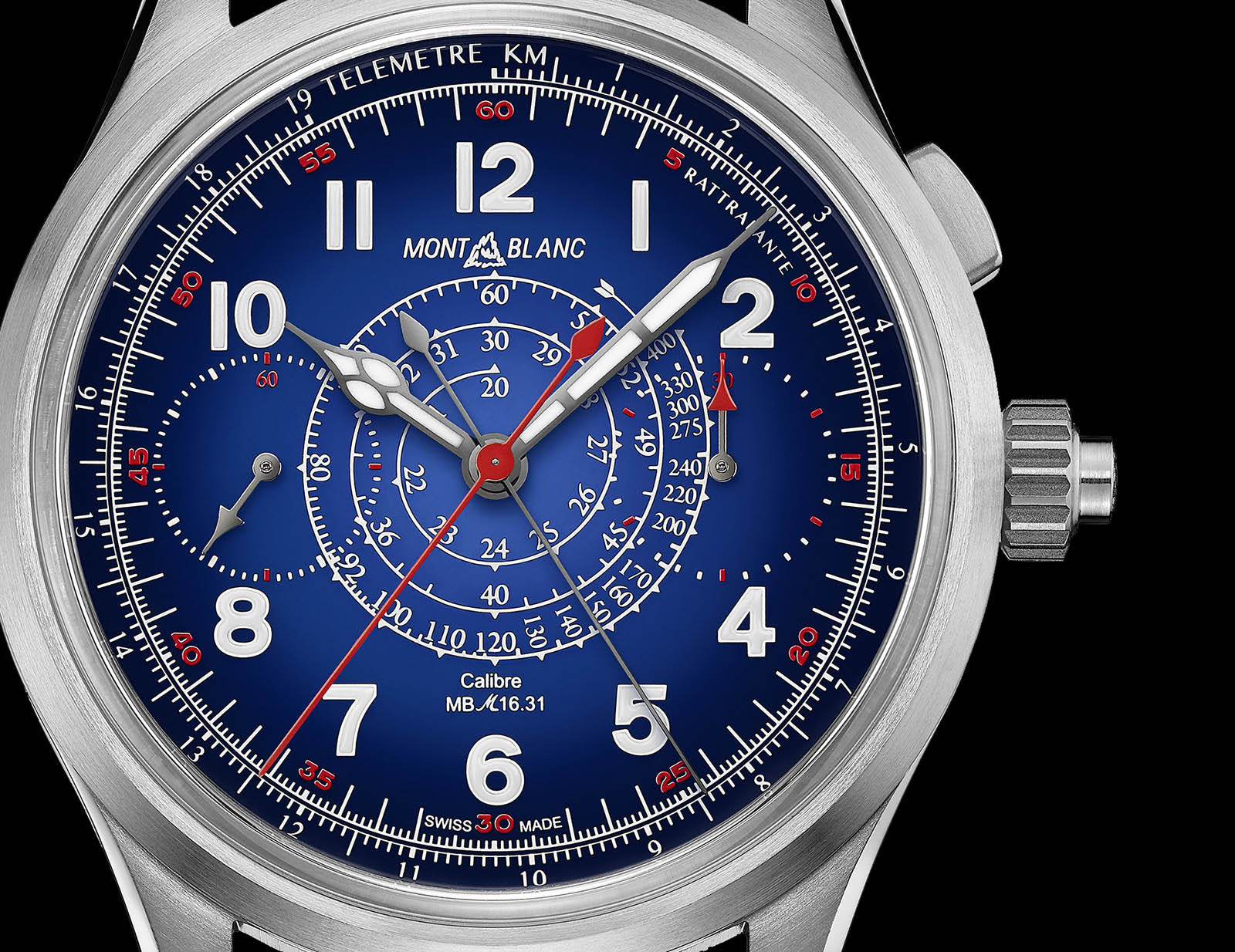 Montblanc 1858 Split Second Chronograph Only Watch 2019 2