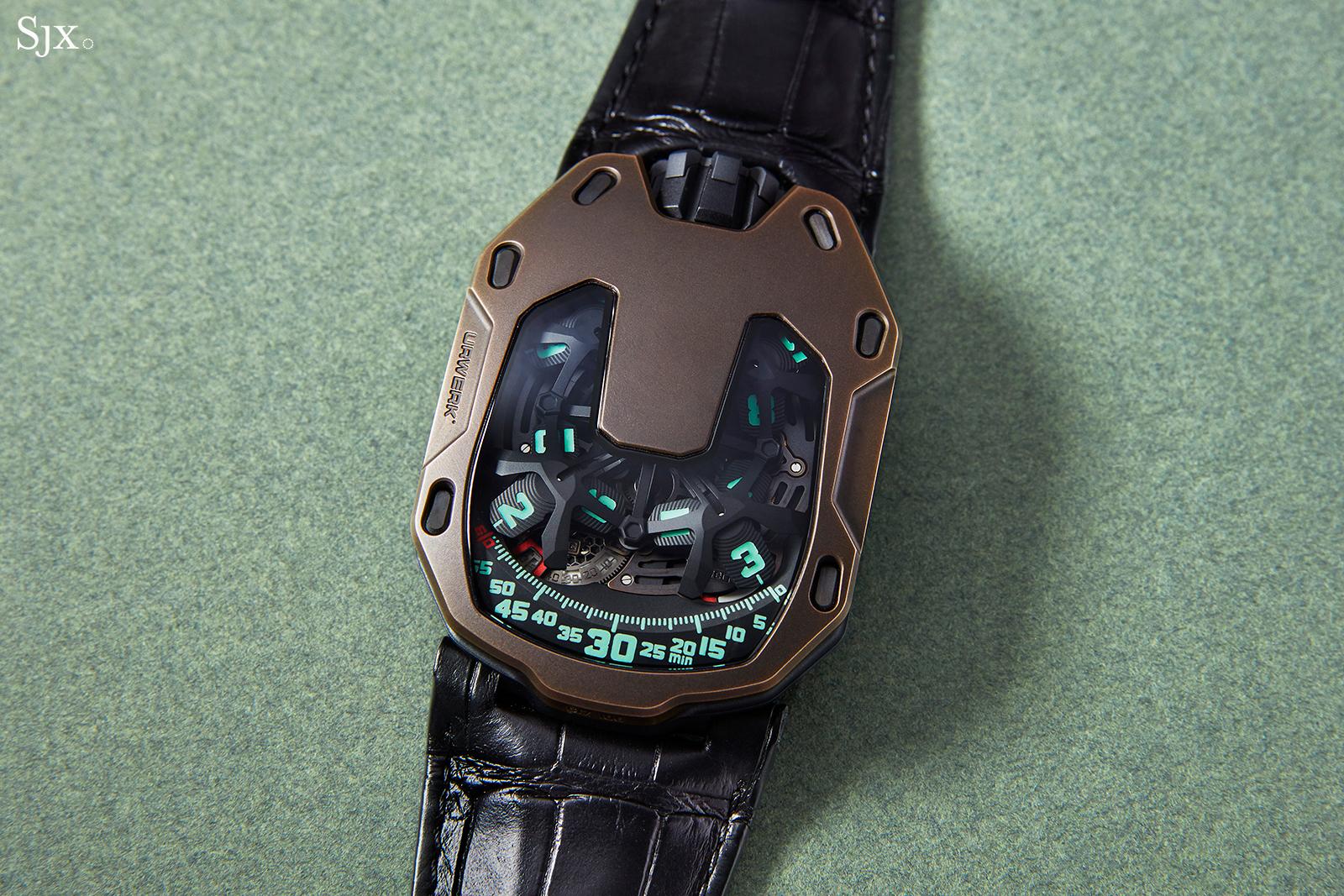 Urwerk UR-105 The Hour Glass