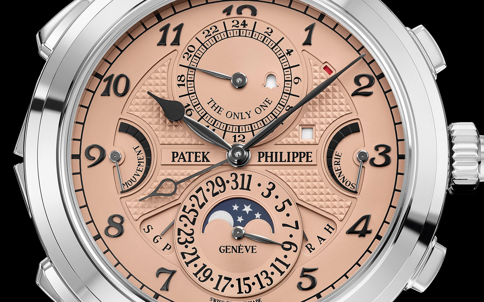 patek philippe Grandmaster Chime only watch steel 6300A 4