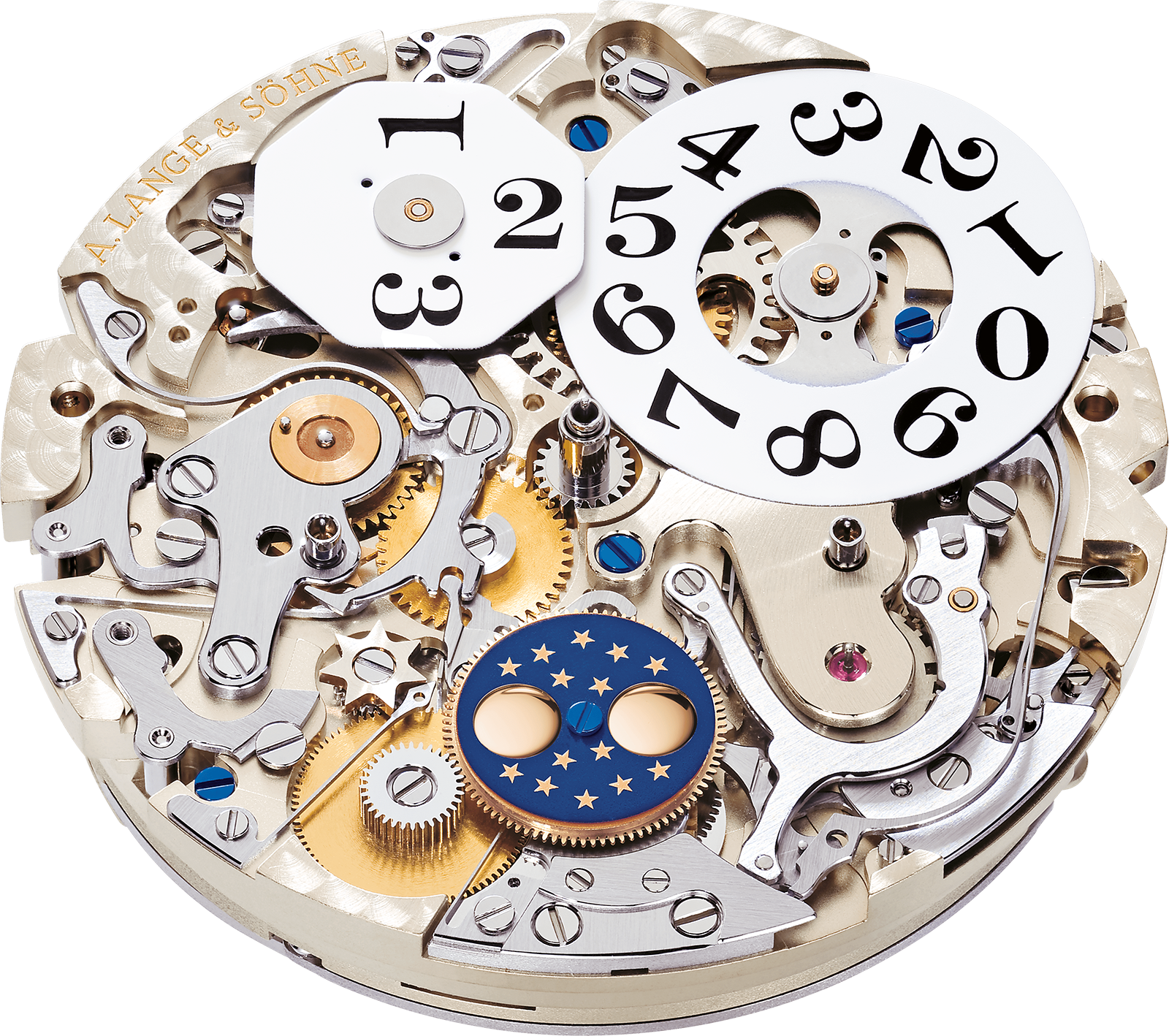 The Cal L952.1 of the Datograph Perpetual. Photo – A. Lange & Söhne