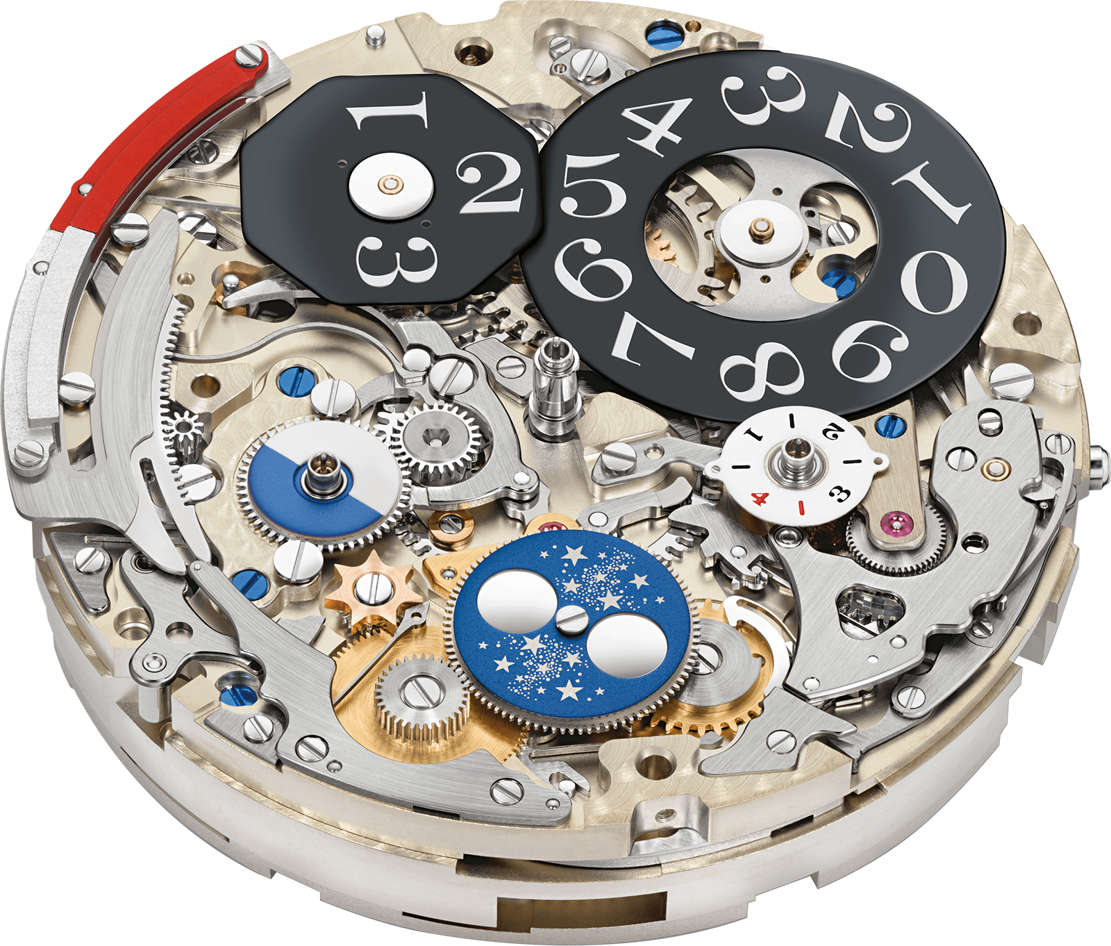 The Cal L952.2 of the Datograph Perpetual Tourbillon. Photo – A. Lange & Söhne