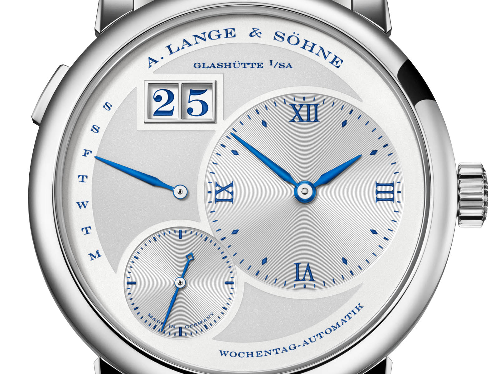 "A. Lange & Söhne Lange 1 Daymatic ""25th Anniversary"" 7"