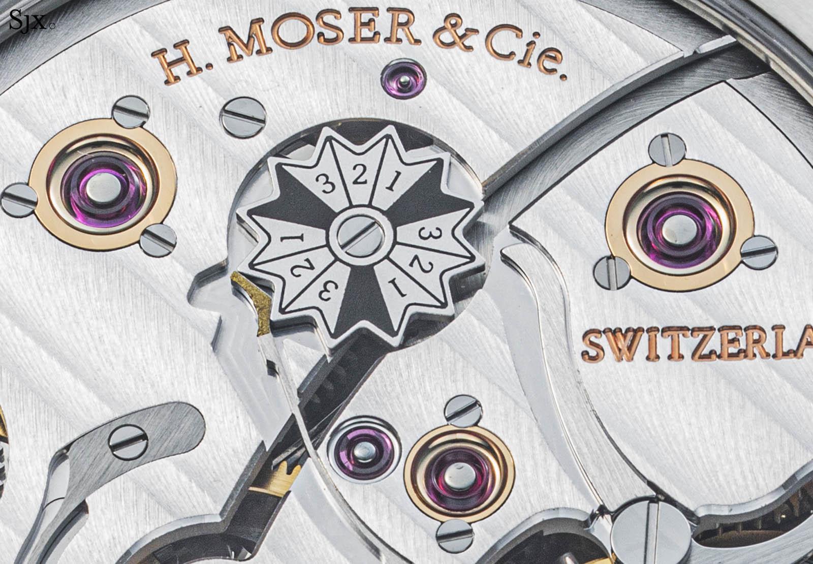 """H. Moser & Cie Pioneer Perpetual Calendar """"Raspberry""""-3"""