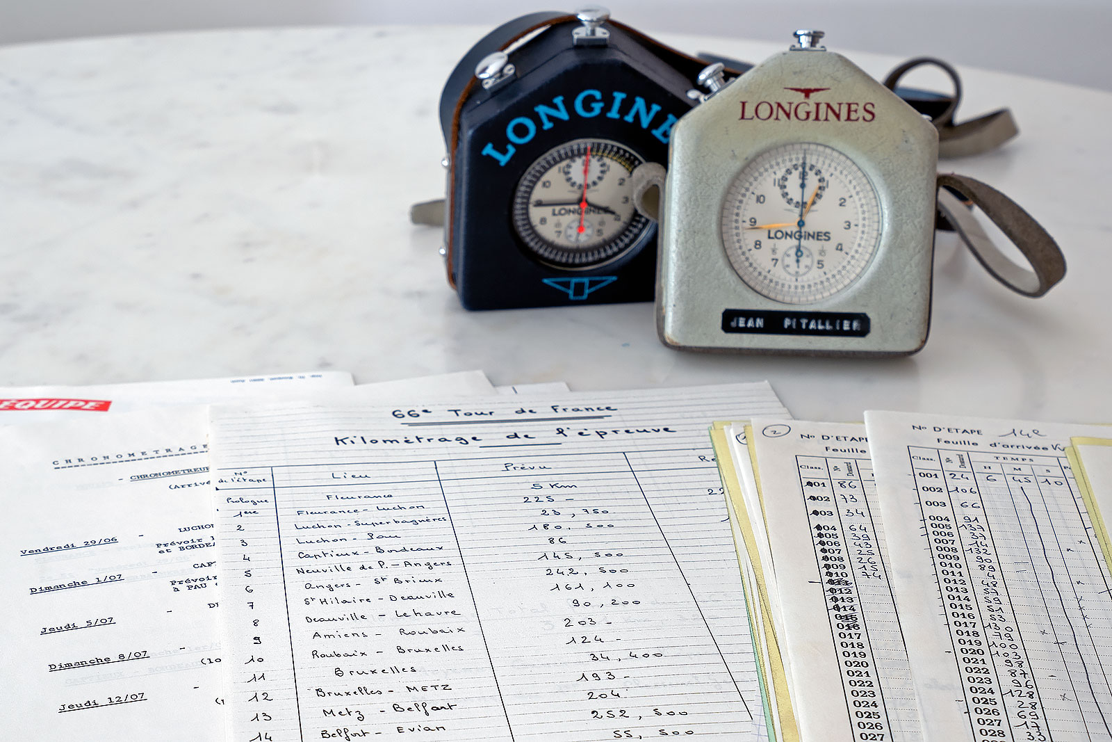 Longines chronograph tour de france pitallier 2