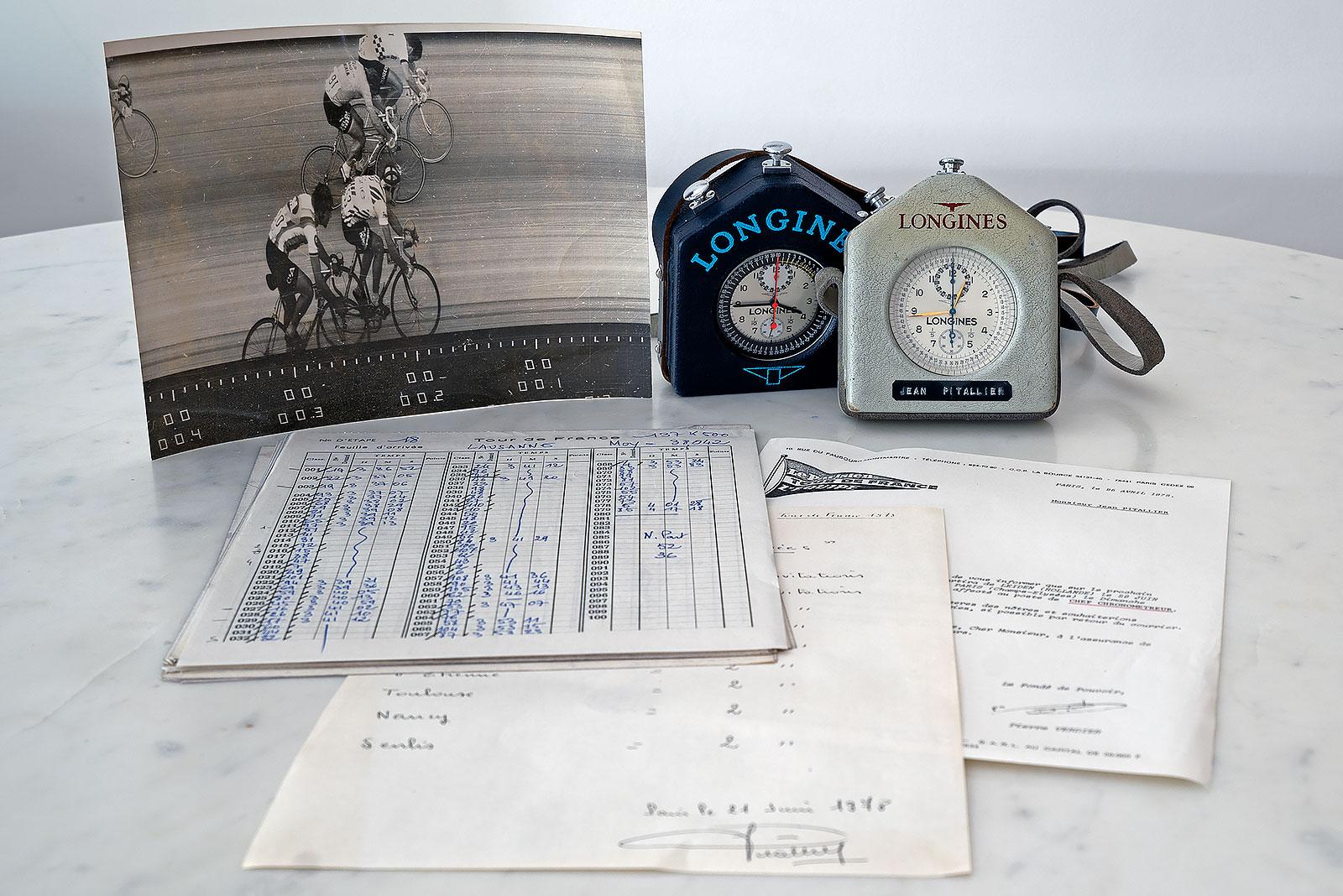 Longines chronograph tour de france pitallier 3