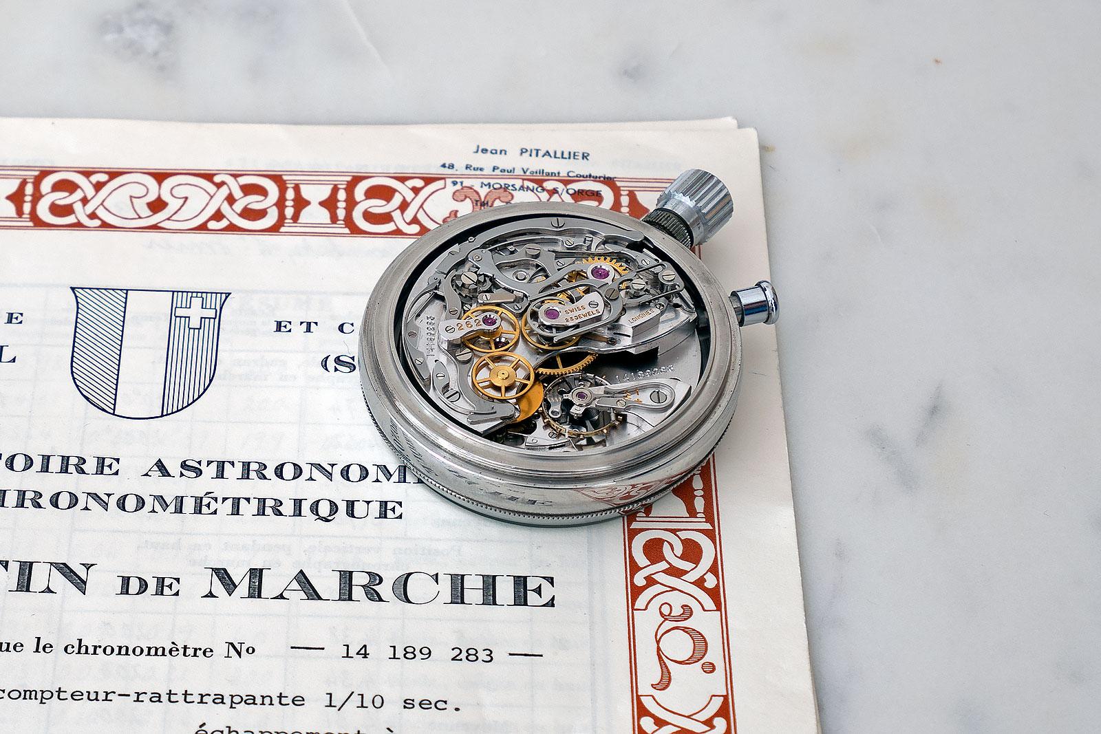 Longines chronograph tour de france
