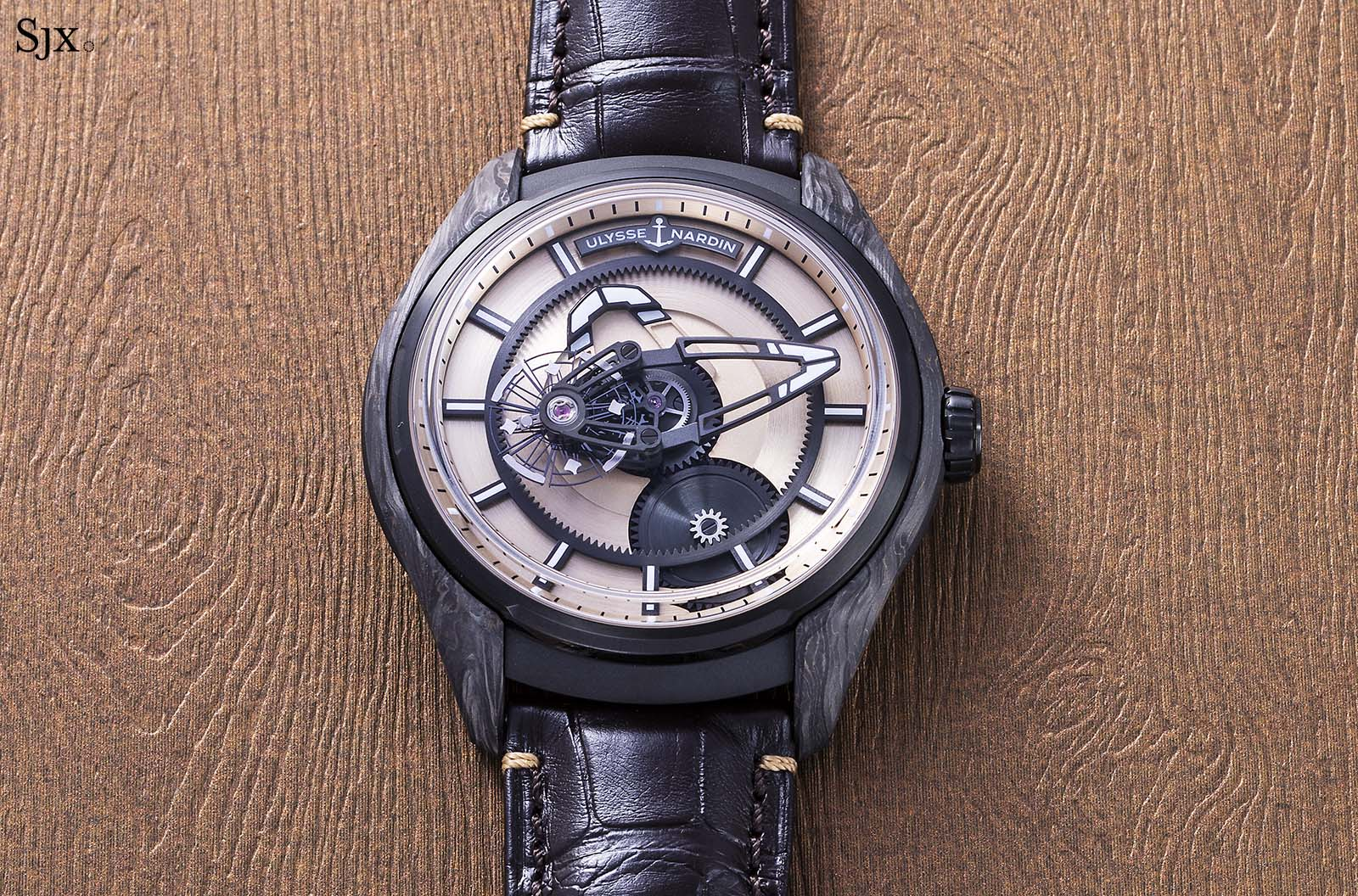 Ulysse Nardin The Hour Glass Freak X Carbonium Gold 6