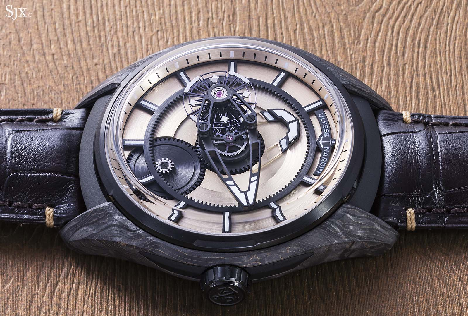 Ulysse Nardin The Hour Glass Freak X Carbonium Gold 9