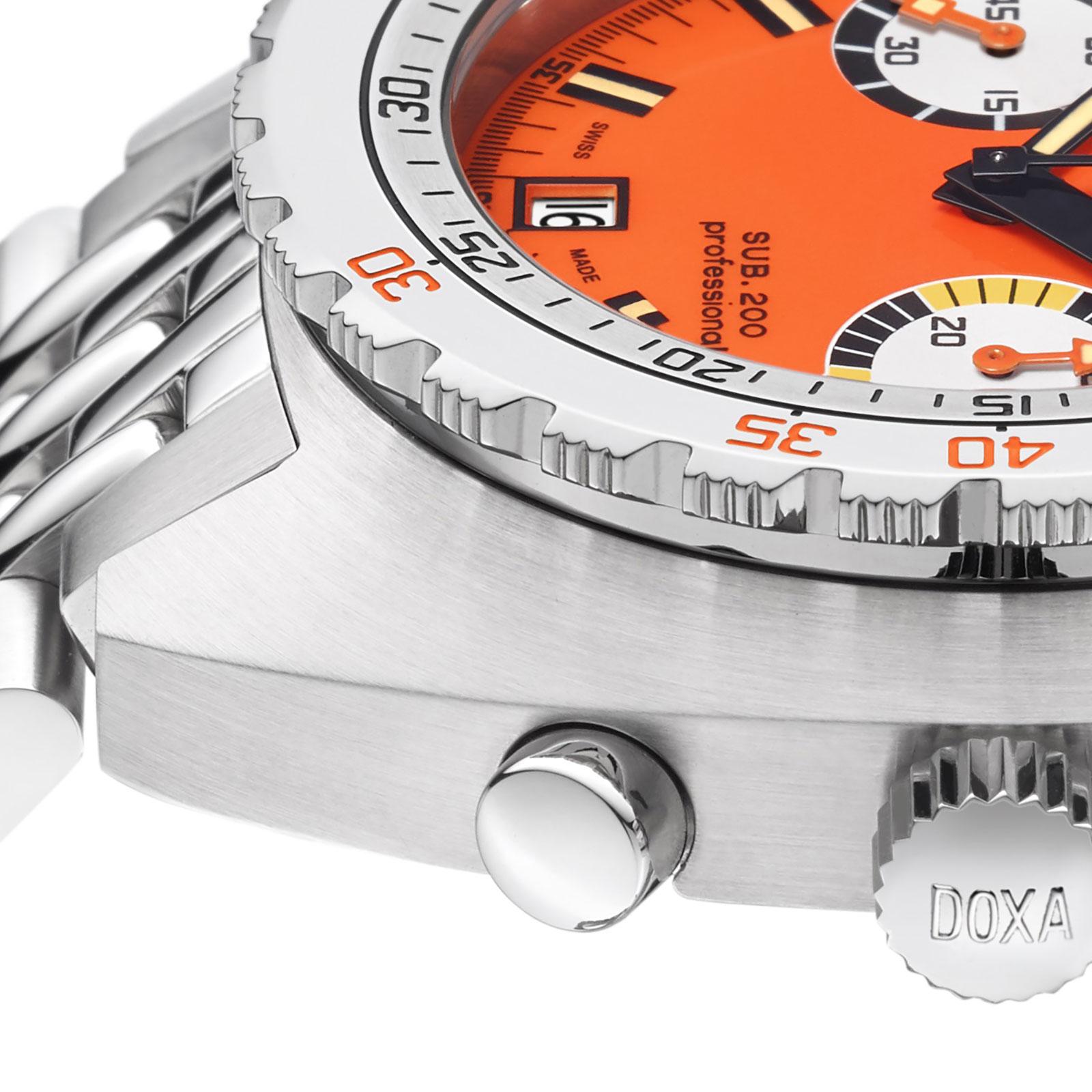 doxa Sub 200 T.Graph steel chronograph 2