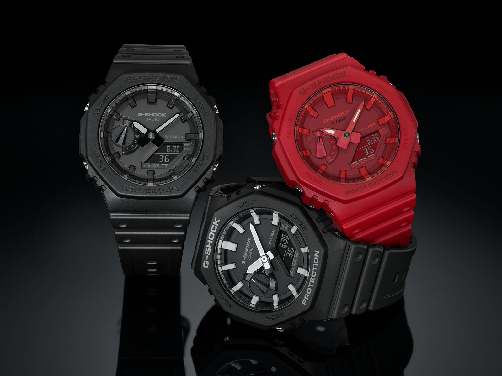 g shock ga-2100 carbon core guard 2