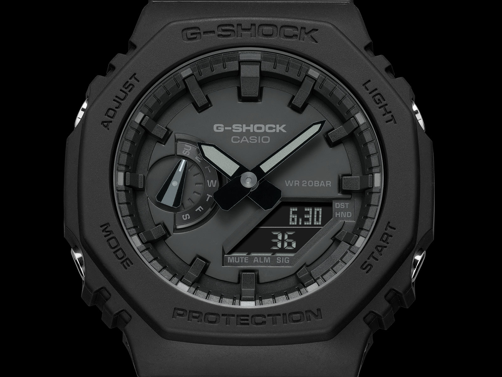 g shock ga-2100 carbon core guard 3