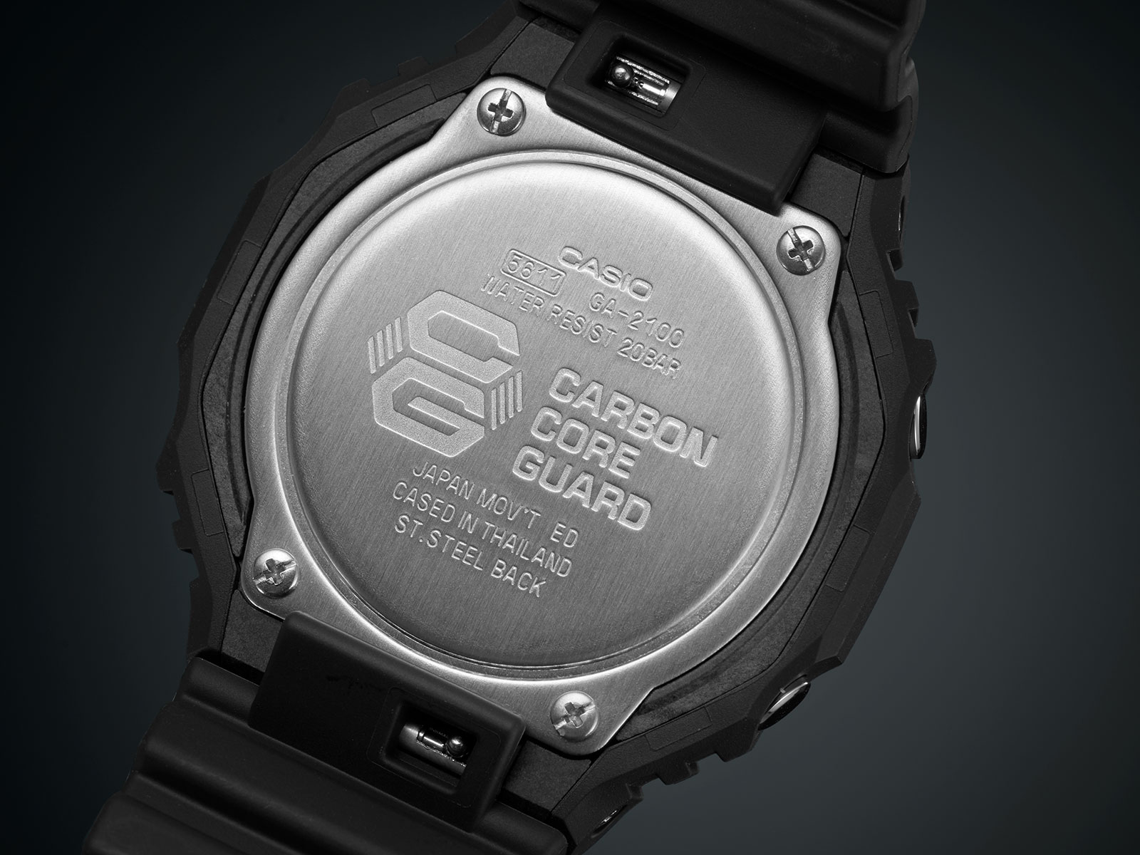 g shock ga-2100 carbon core guard 5