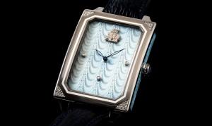 """Introducing the Michel Perchin Watch in """"Drapery"""" Enamel"""