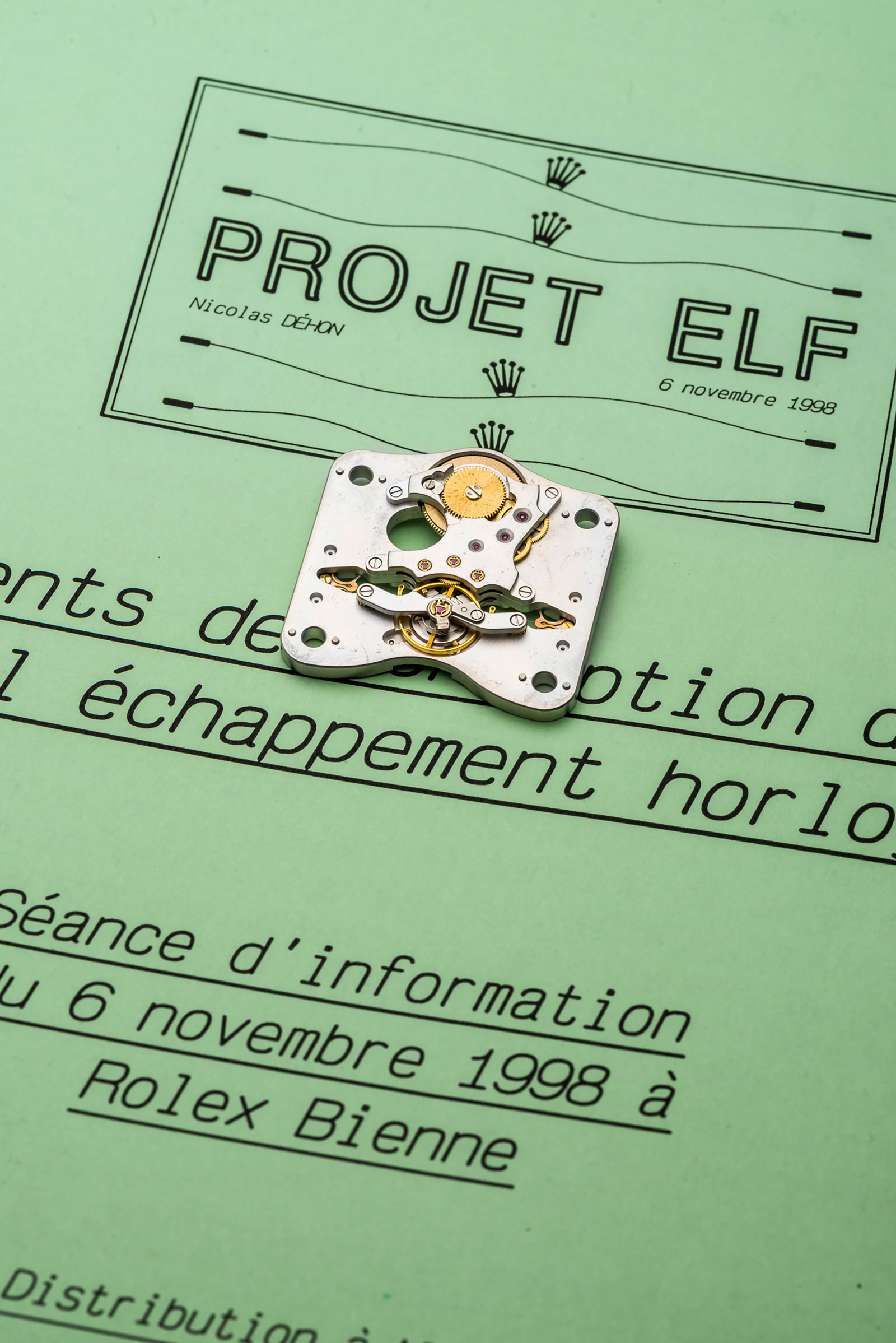 project-elf-rolex-nicolas-dehon