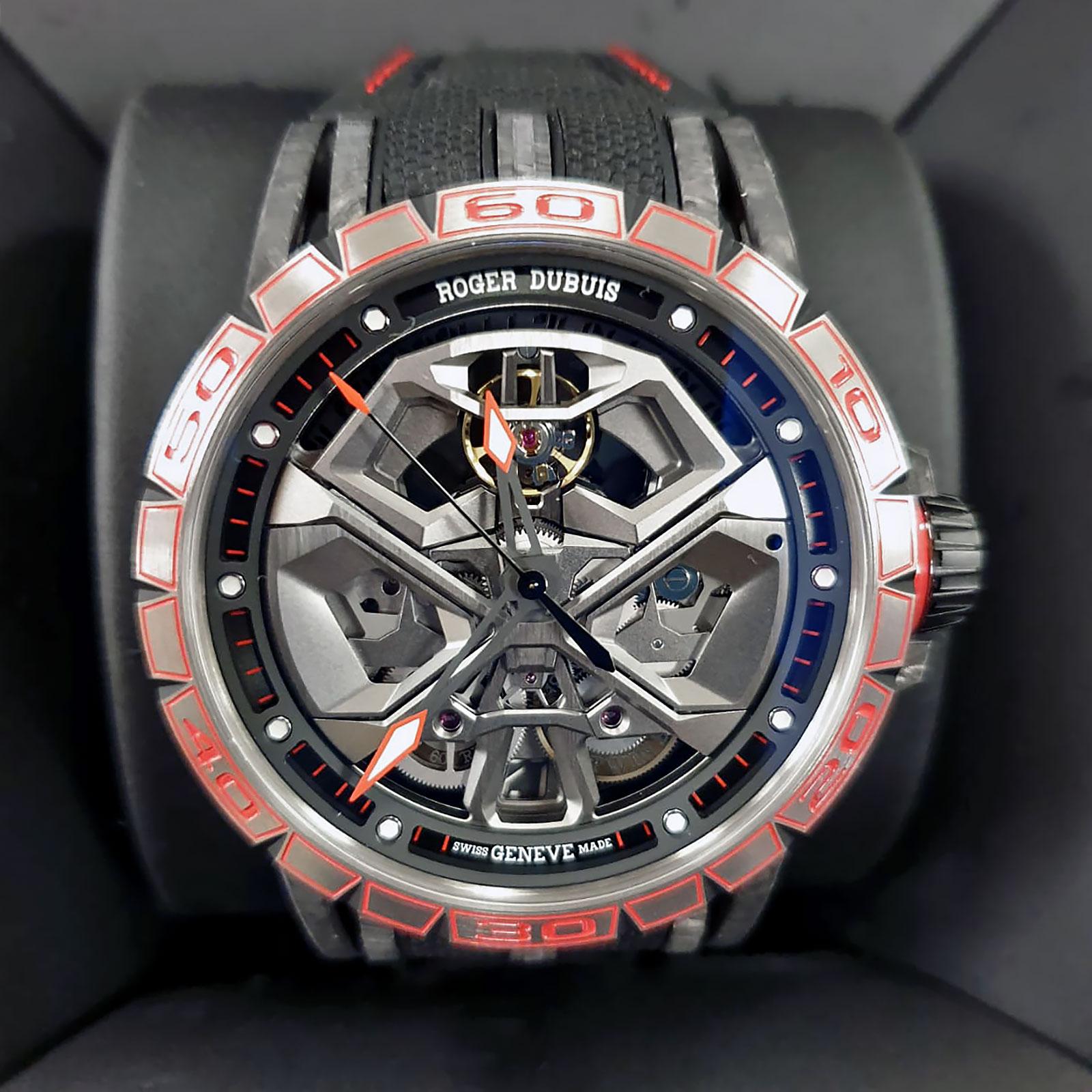 Roger Dubuis, Franck Muller, Louis Moinet Unveil Watches