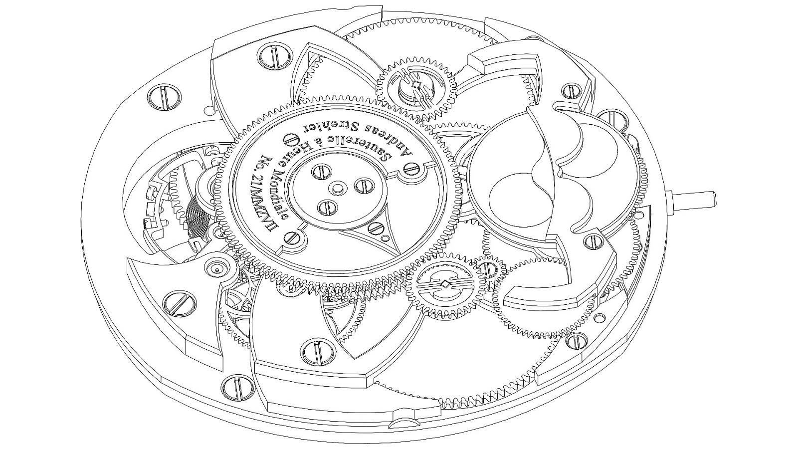 Andreas Strehler Time Zone Watch 19