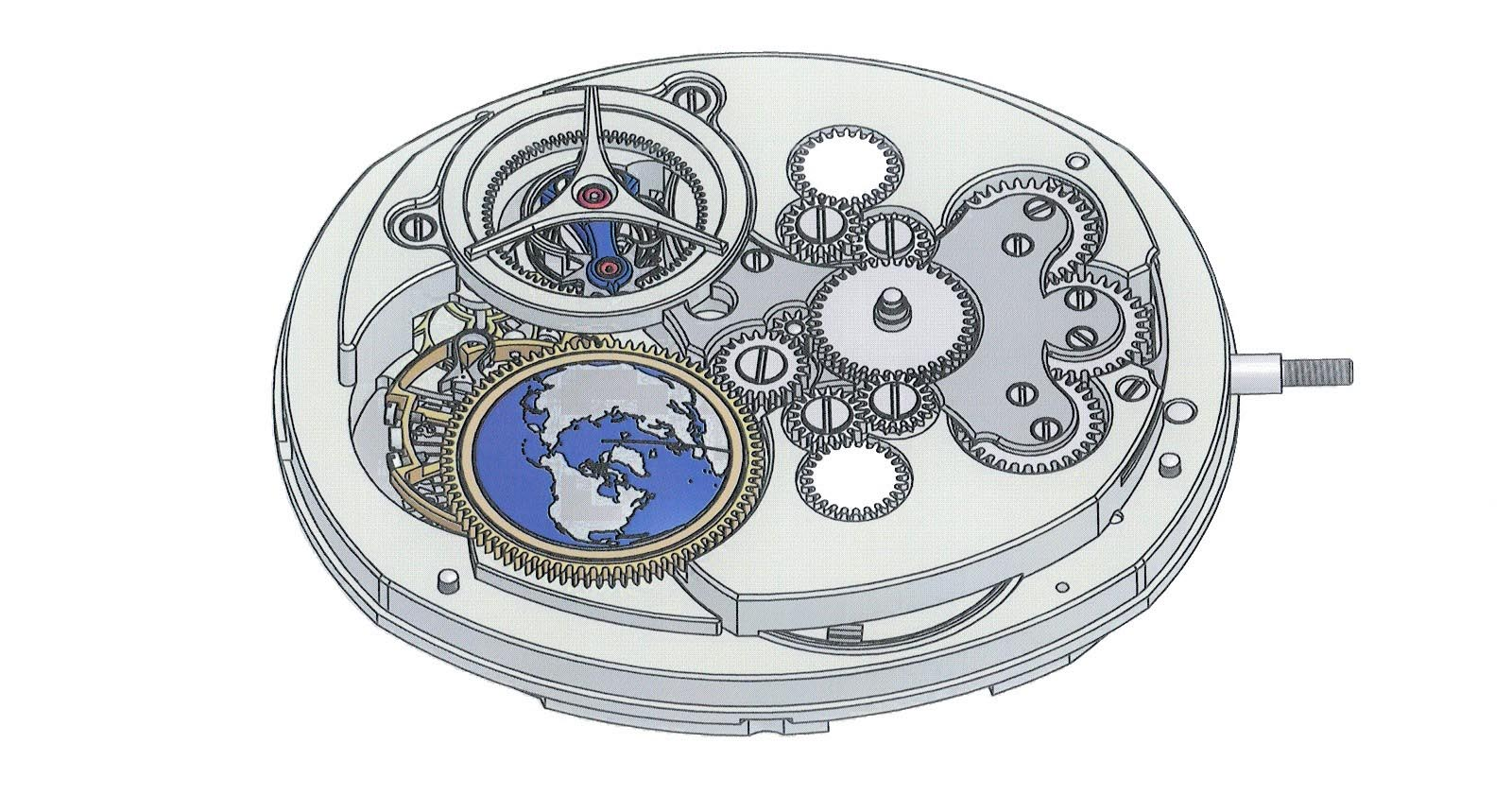Andreas Strehler Time Zone Watch 25