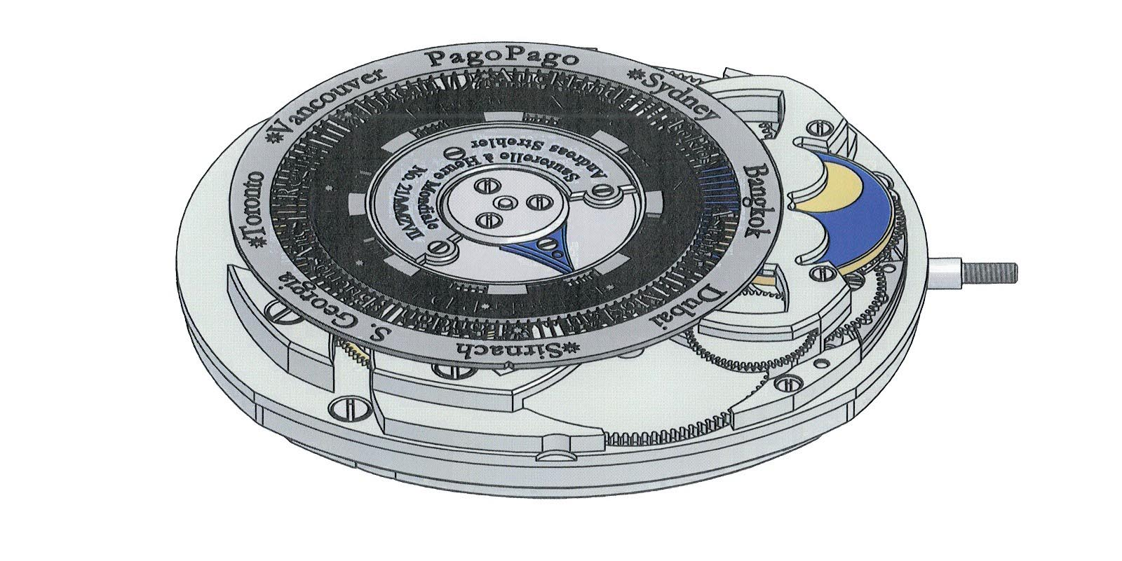 Andreas Strehler Time Zone Watch 31
