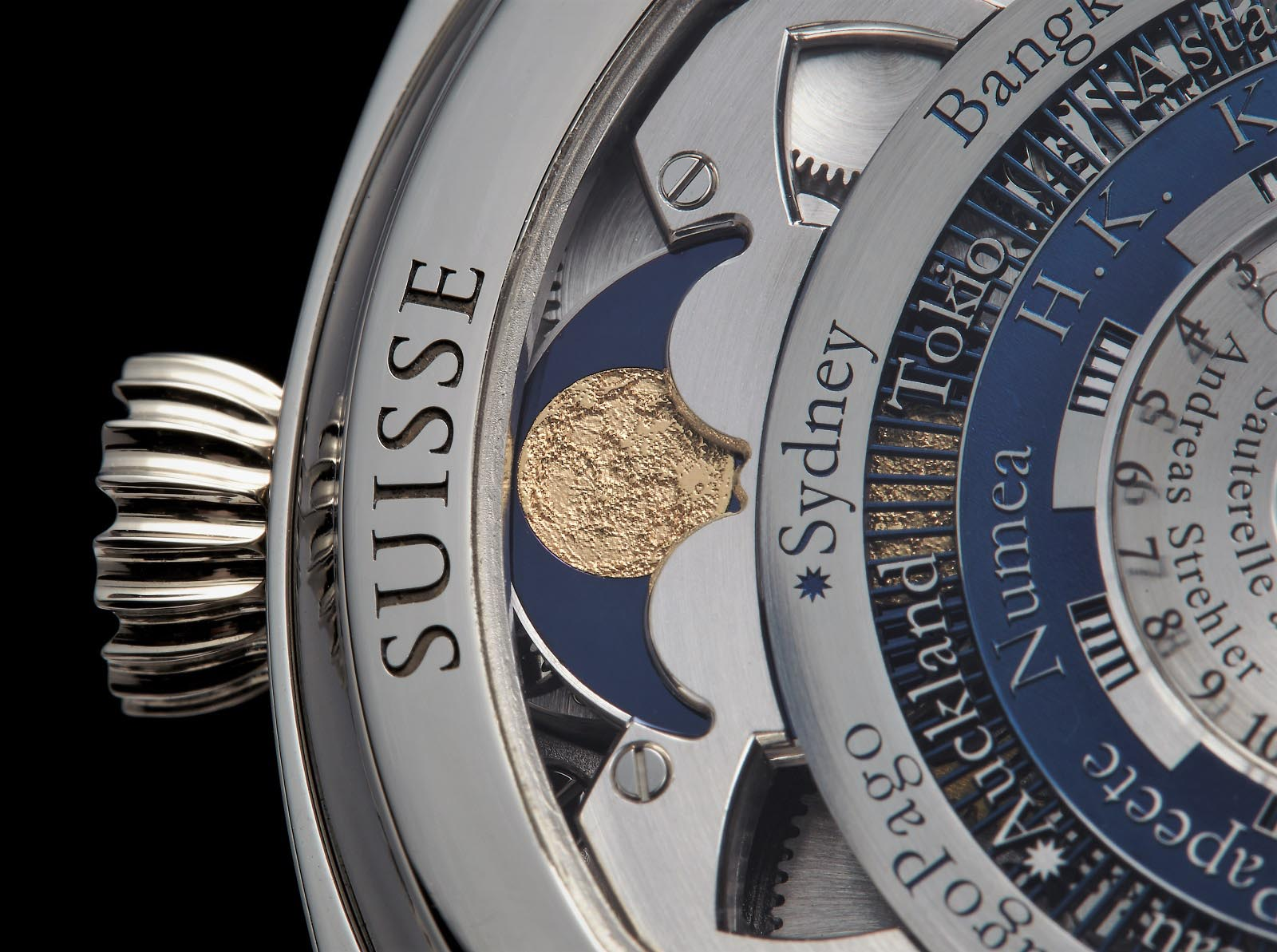 Andreas Strehler Time Zone Watch 33