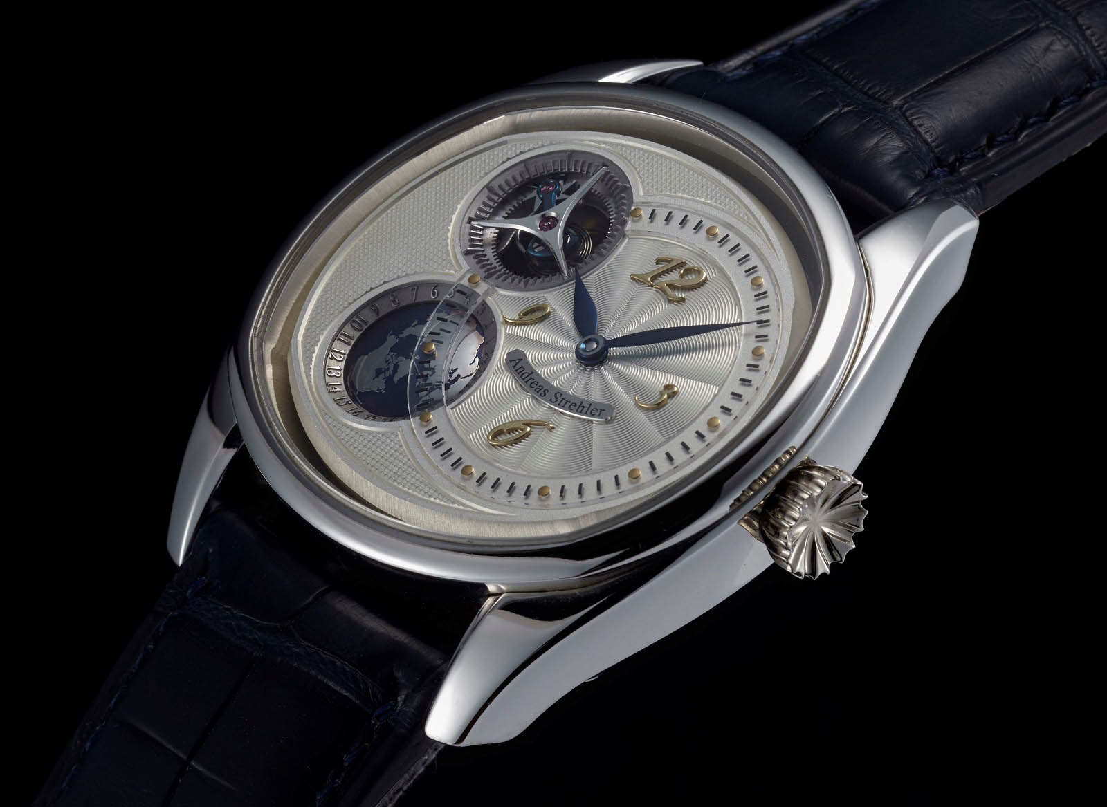 Andreas Strehler Time Zone Watch 36