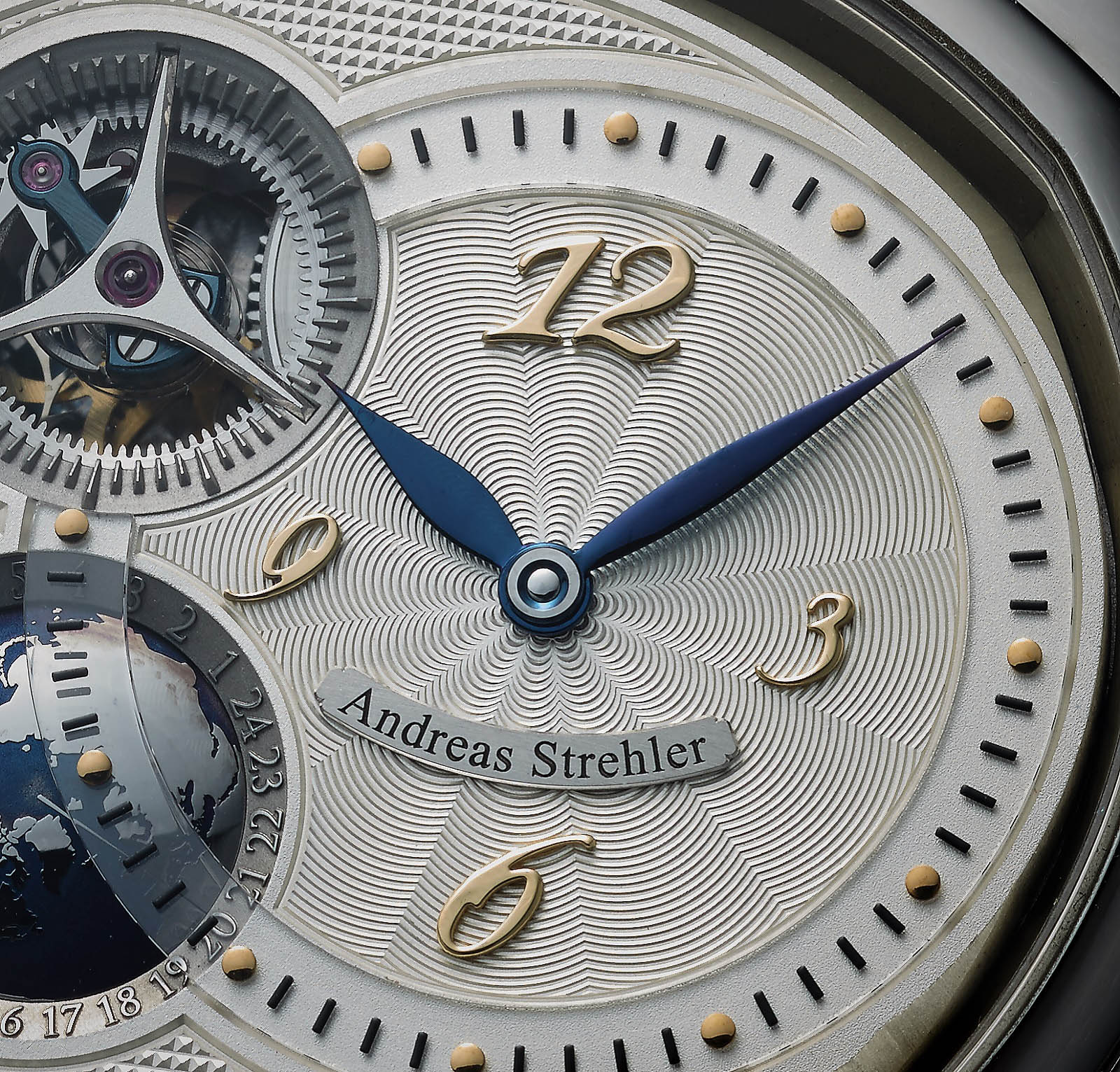 Andreas Strehler Time Zone Watch 40
