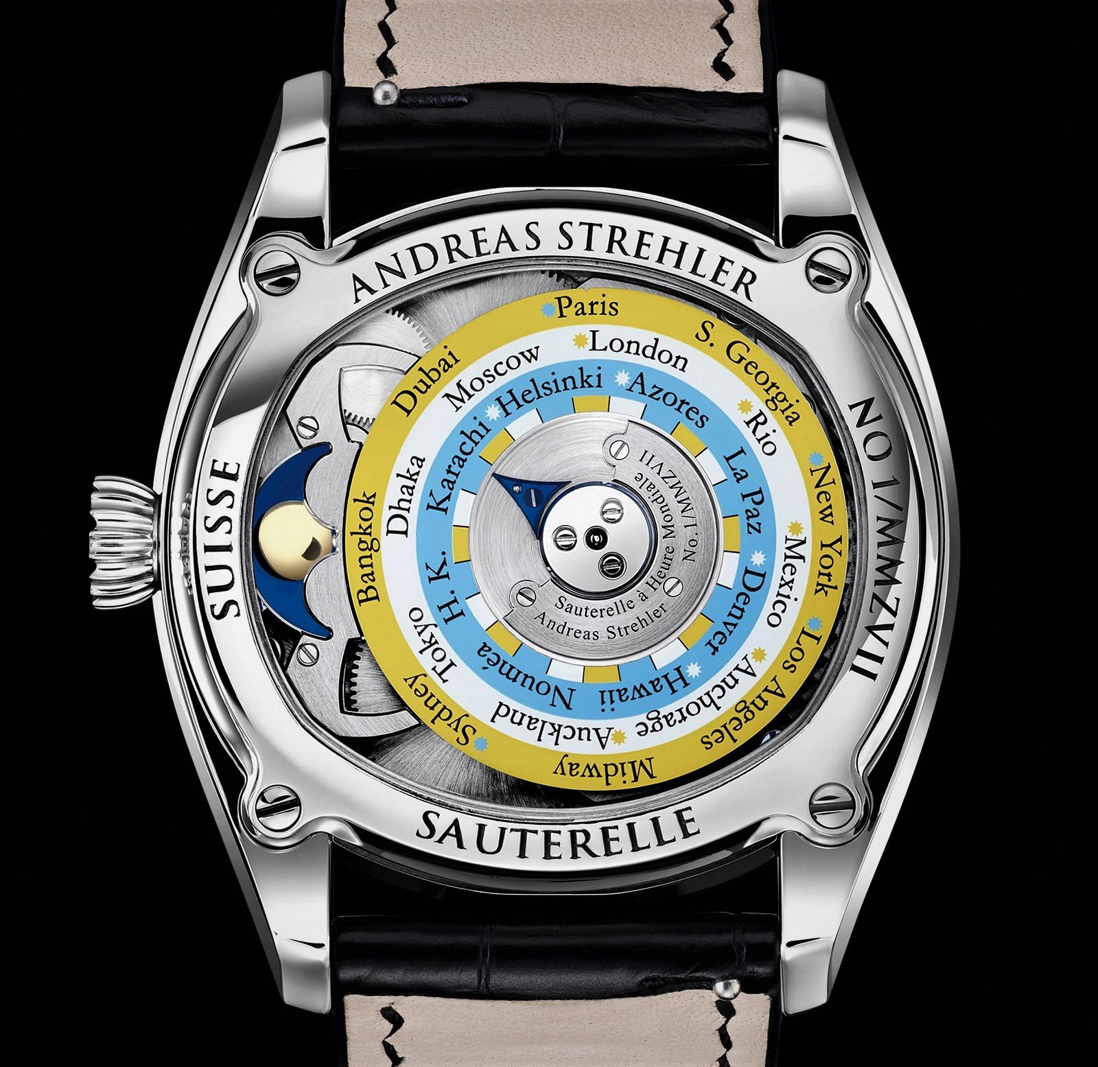 Andreas Strehler Time Zone Watch 41