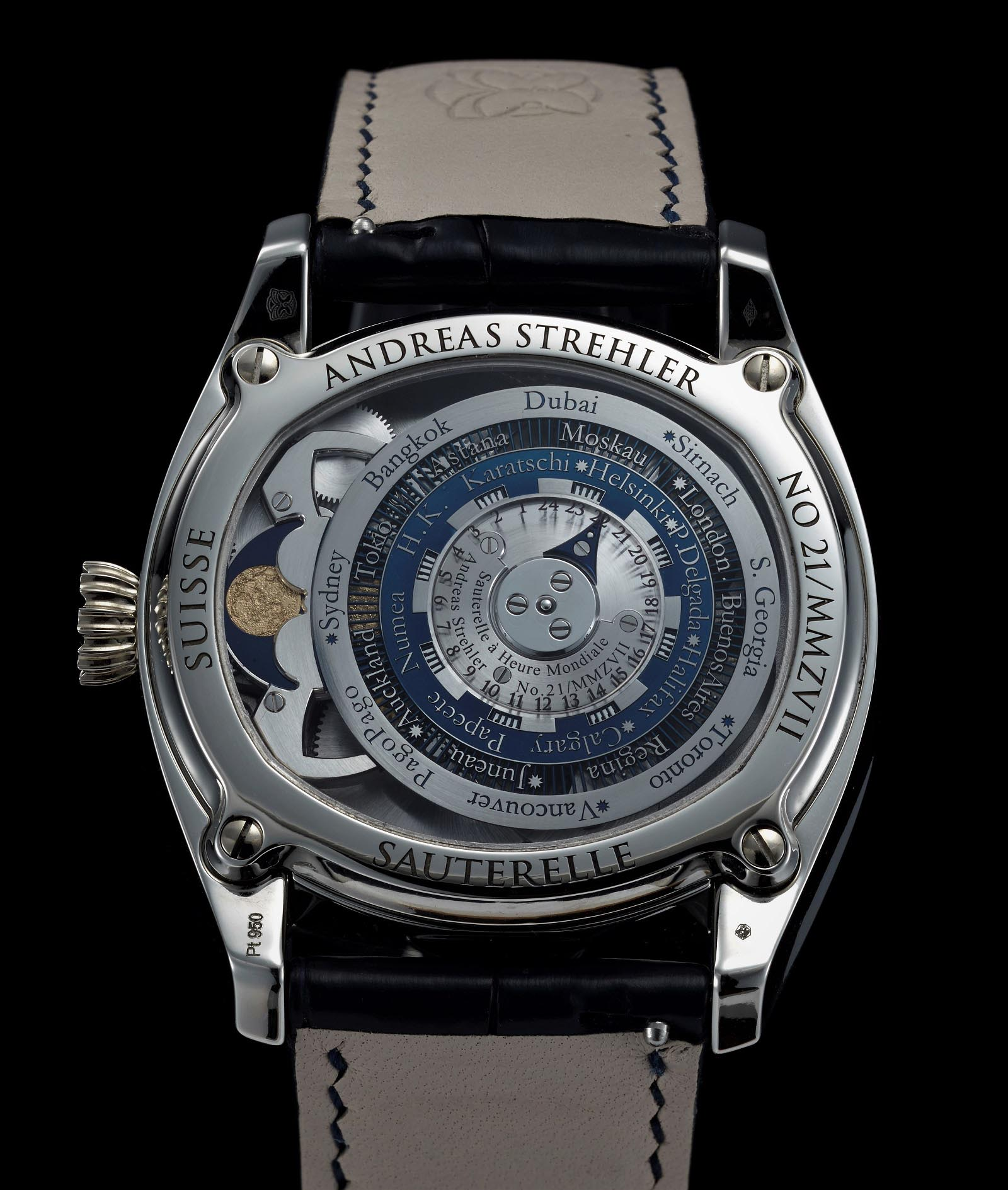 Andreas Strehler Time Zone Watch 44