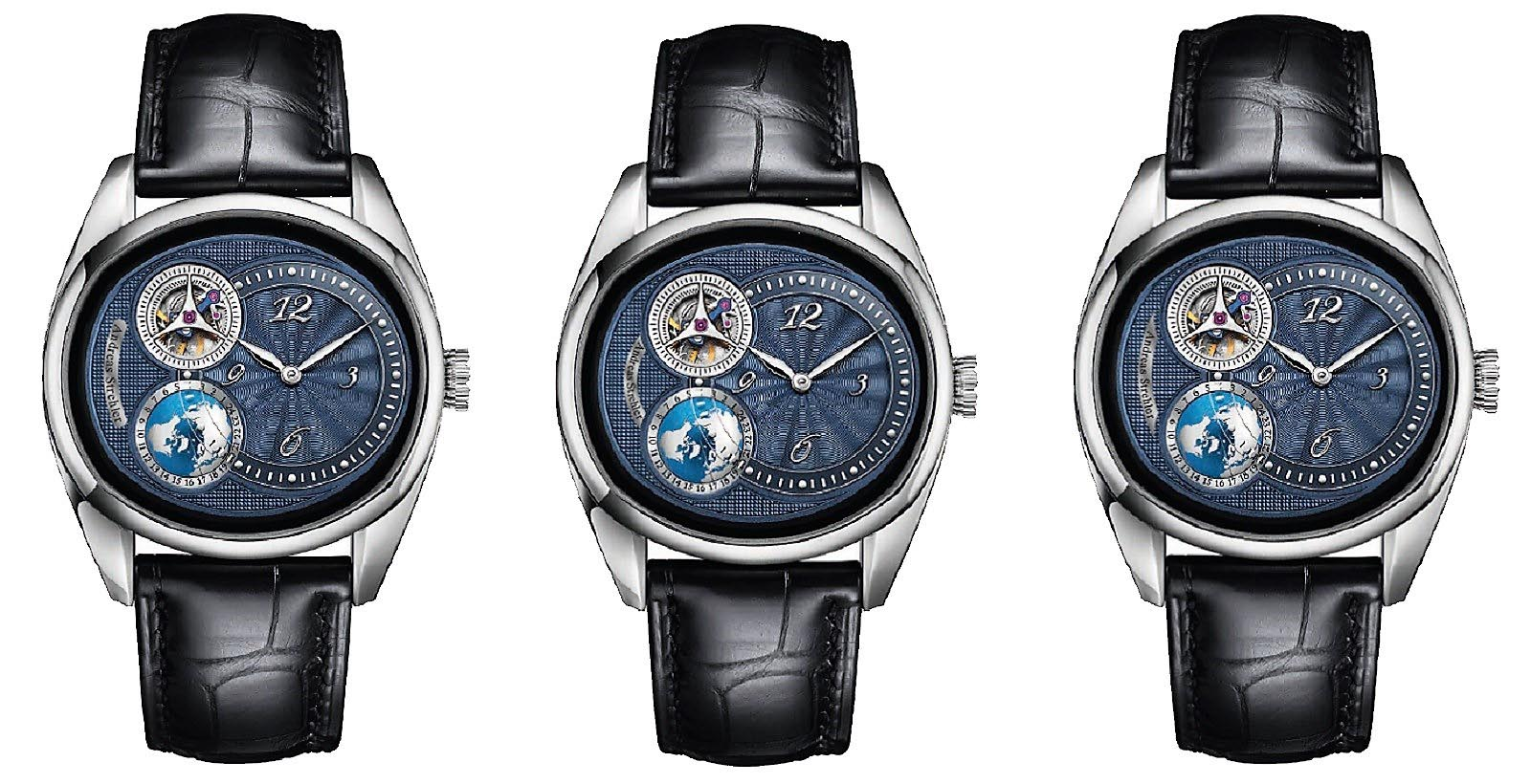 Andreas Strehler Time Zone Watch 45