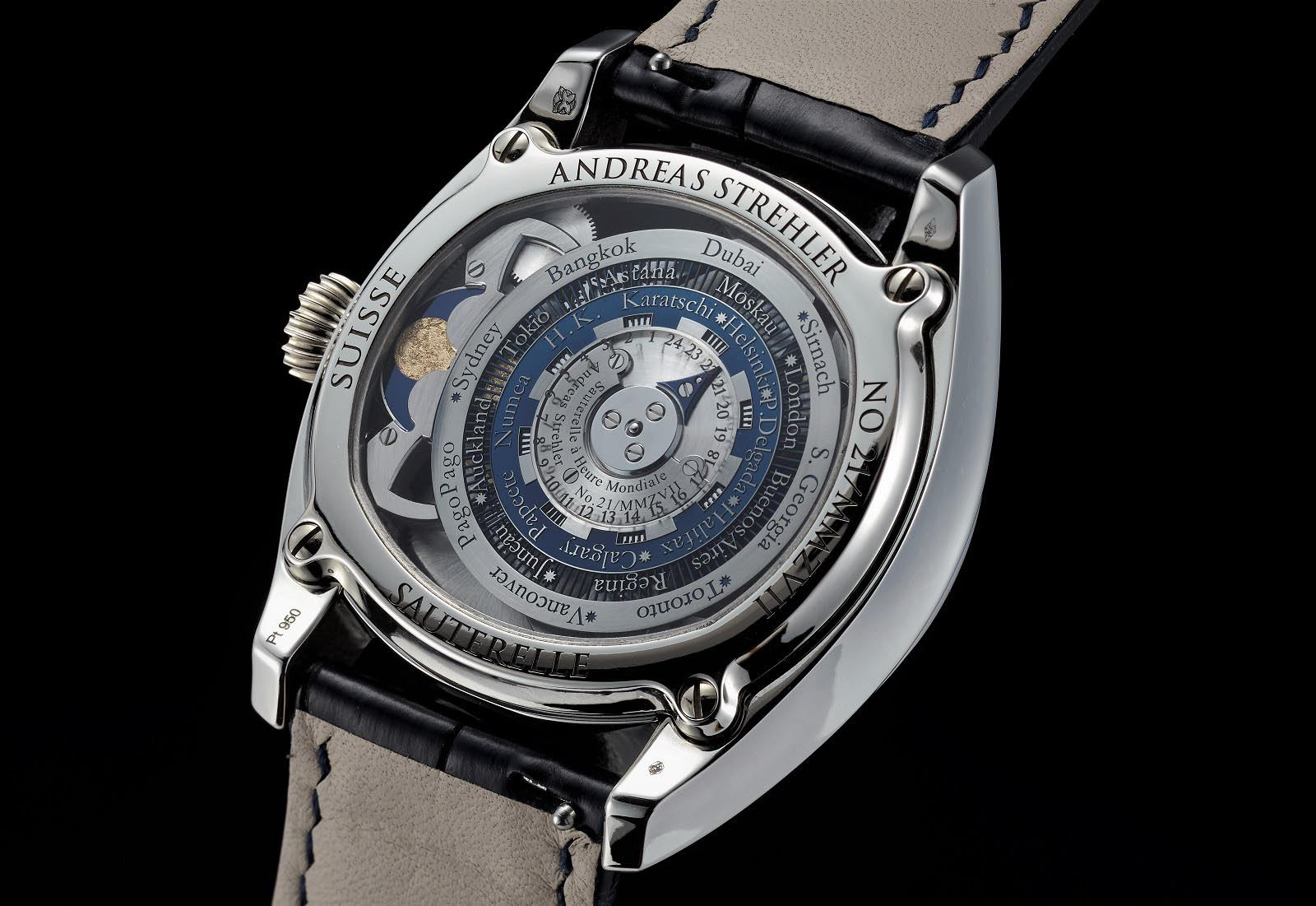 Andreas Strehler Time Zone Watch 48