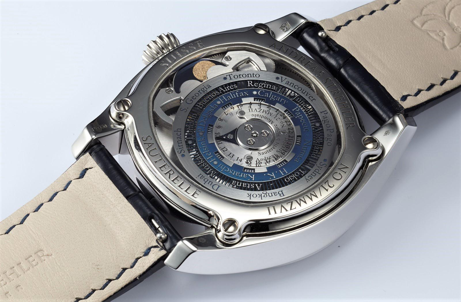 Andreas Strehler Time Zone Watch 52