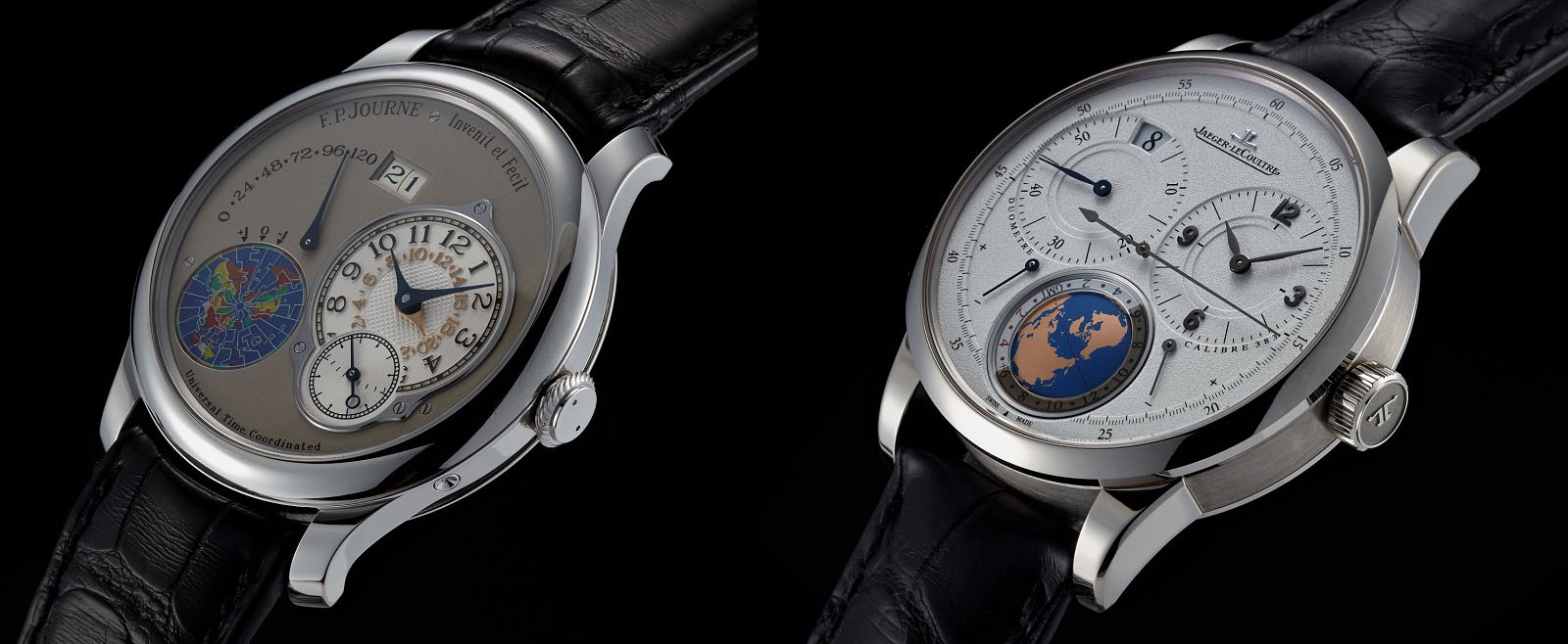 F.P. Journe Octa UTC – Jaeger-LeCoultre Duomètre Universal Travel Time 03
